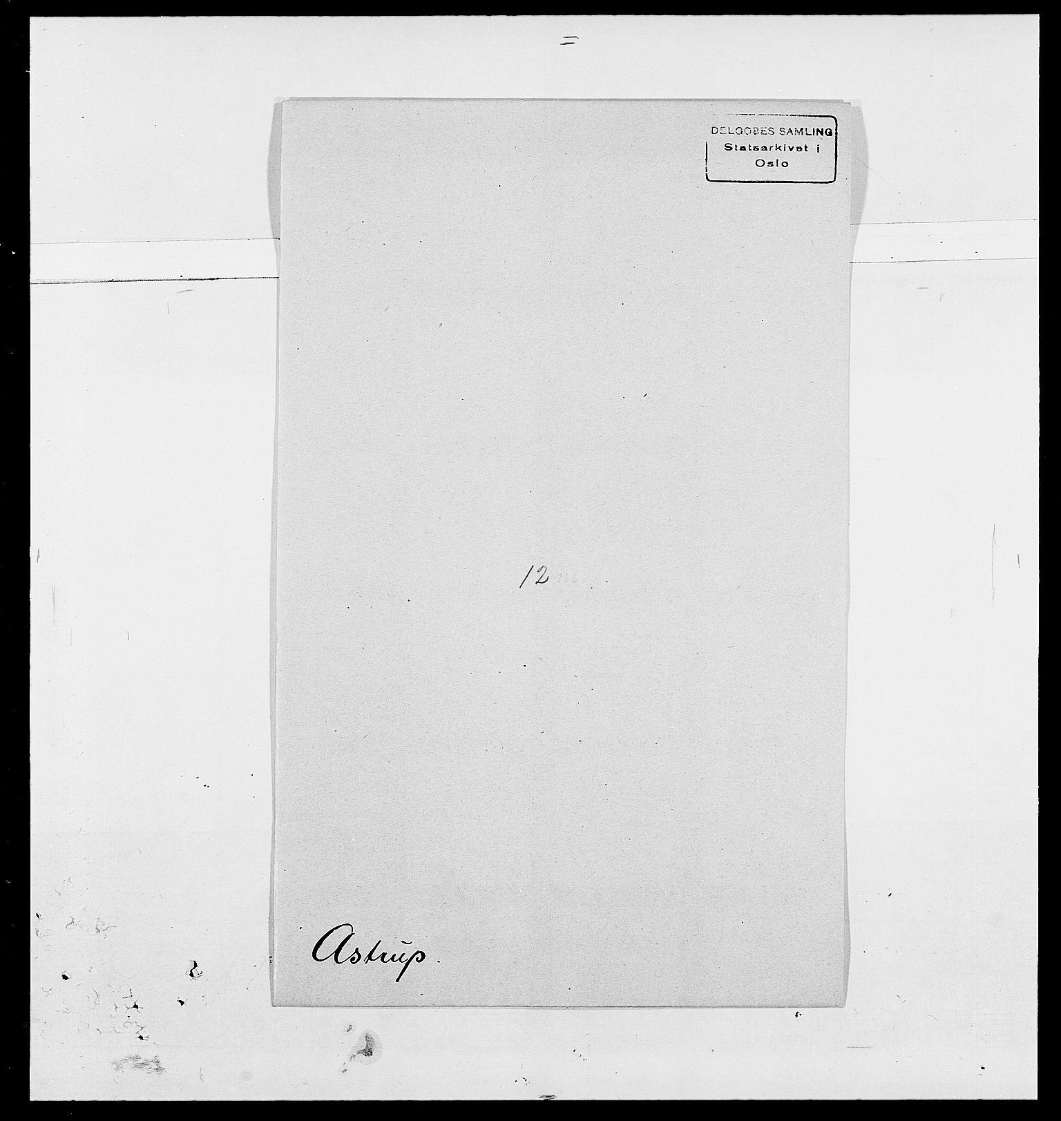 SAO, Delgobe, Charles Antoine - samling, D/Da/L0002: Anker, Ancher - Bauner, s. 468