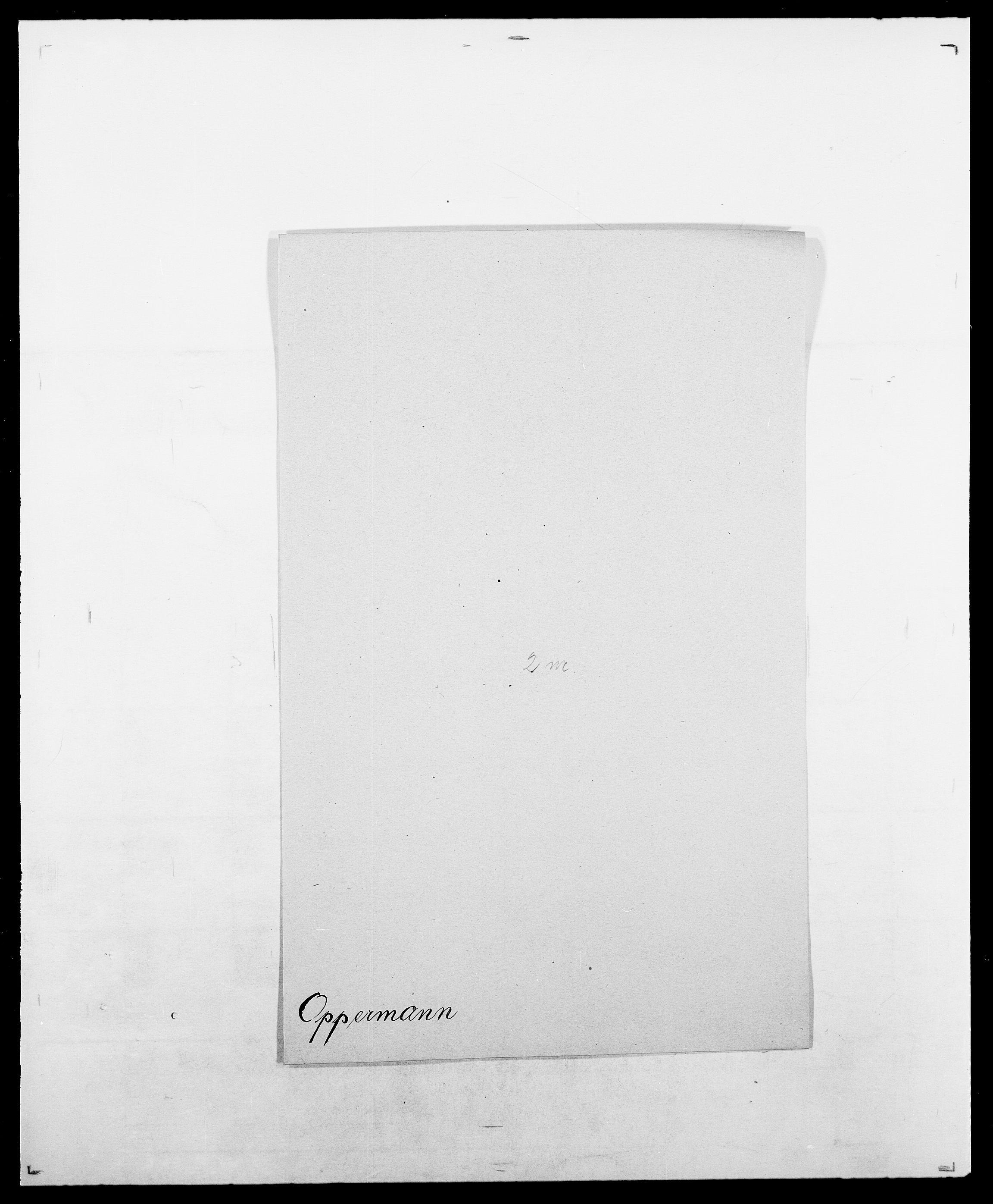 SAO, Delgobe, Charles Antoine - samling, D/Da/L0029: Obel - Oxholm, s. 377