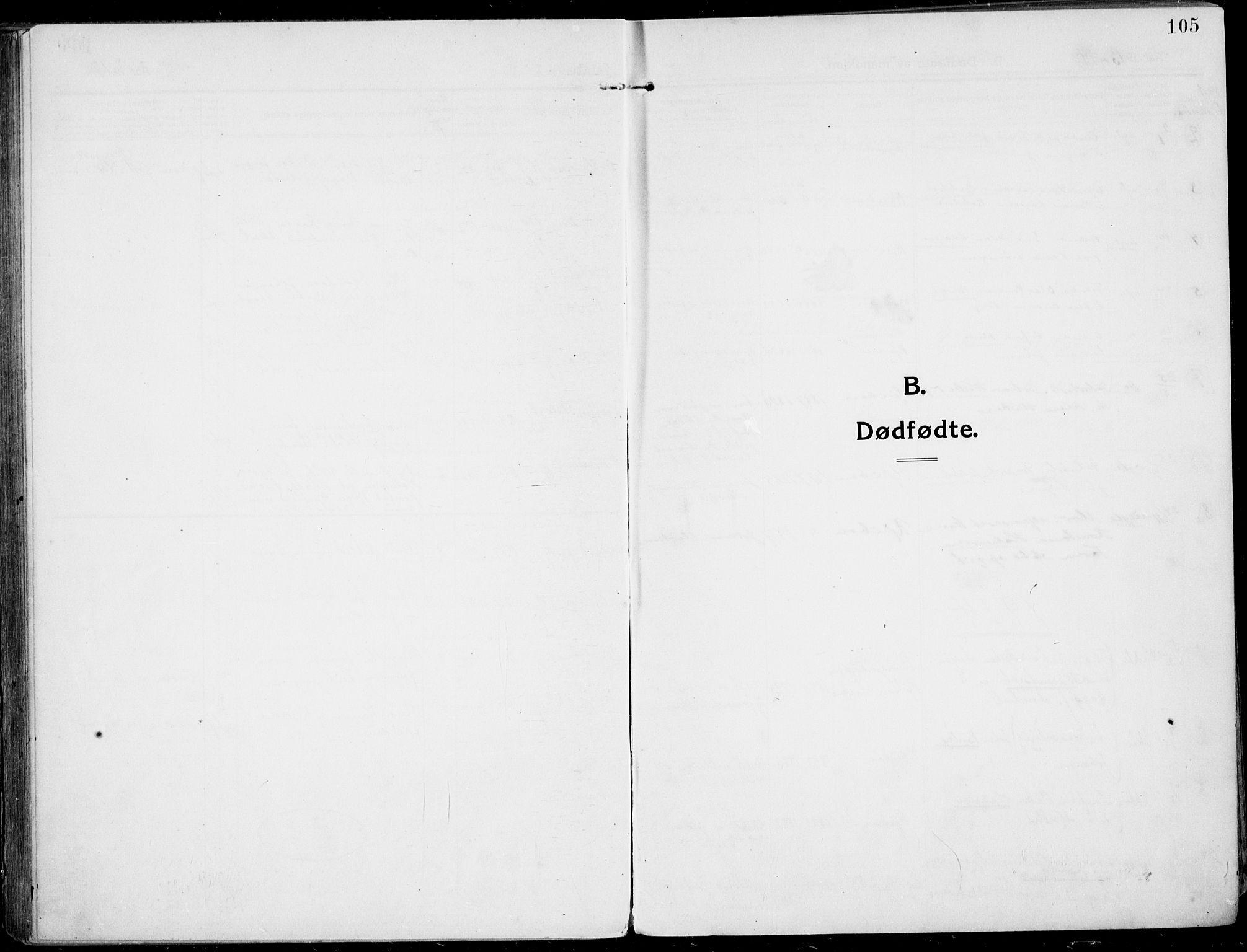 SAKO, Rjukan kirkebøker, F/Fa/L0002: Ministerialbok nr. 2, 1912-1917, s. 105