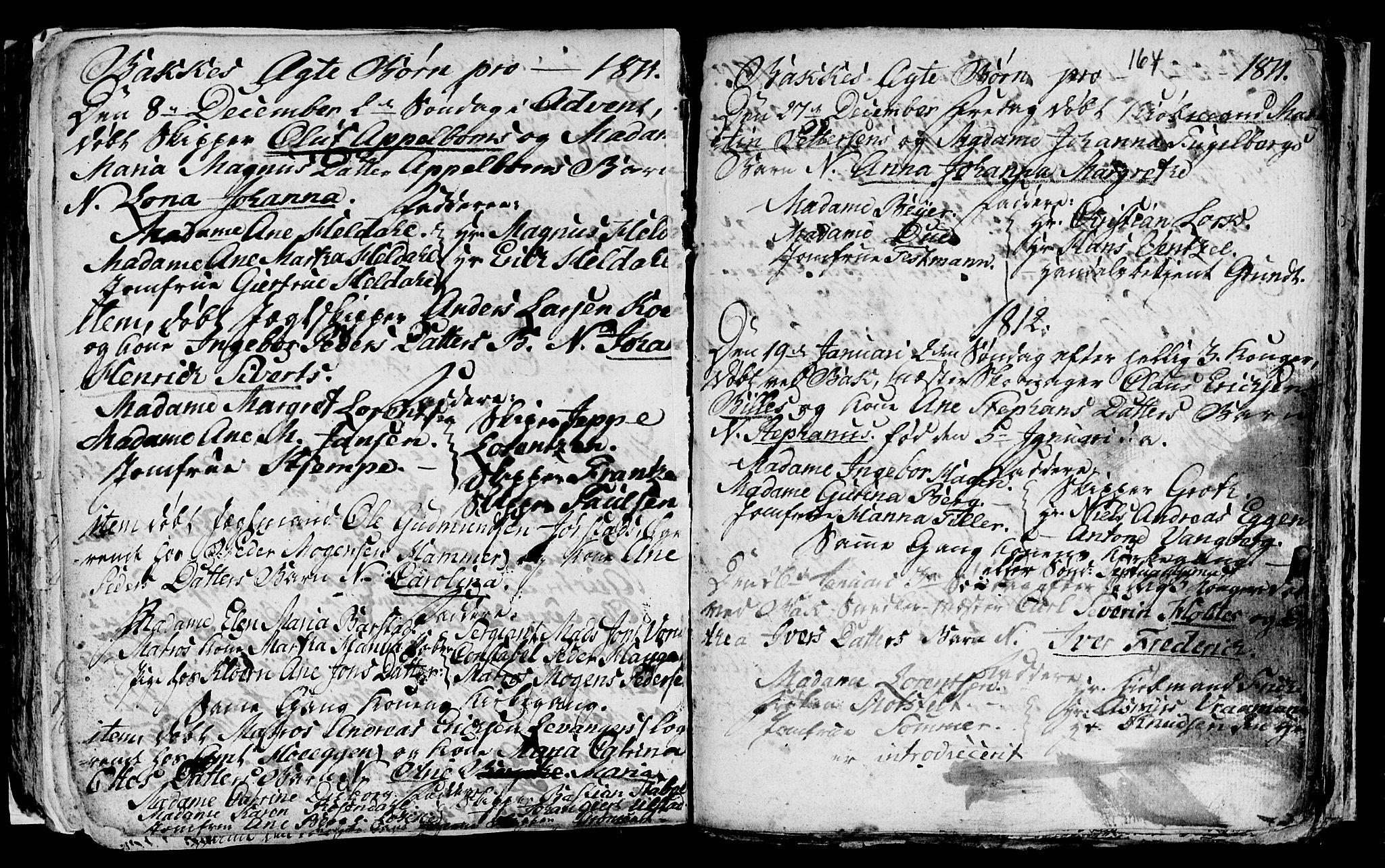 SAT, Ministerialprotokoller, klokkerbøker og fødselsregistre - Sør-Trøndelag, 604/L0218: Klokkerbok nr. 604C01, 1754-1819, s. 164