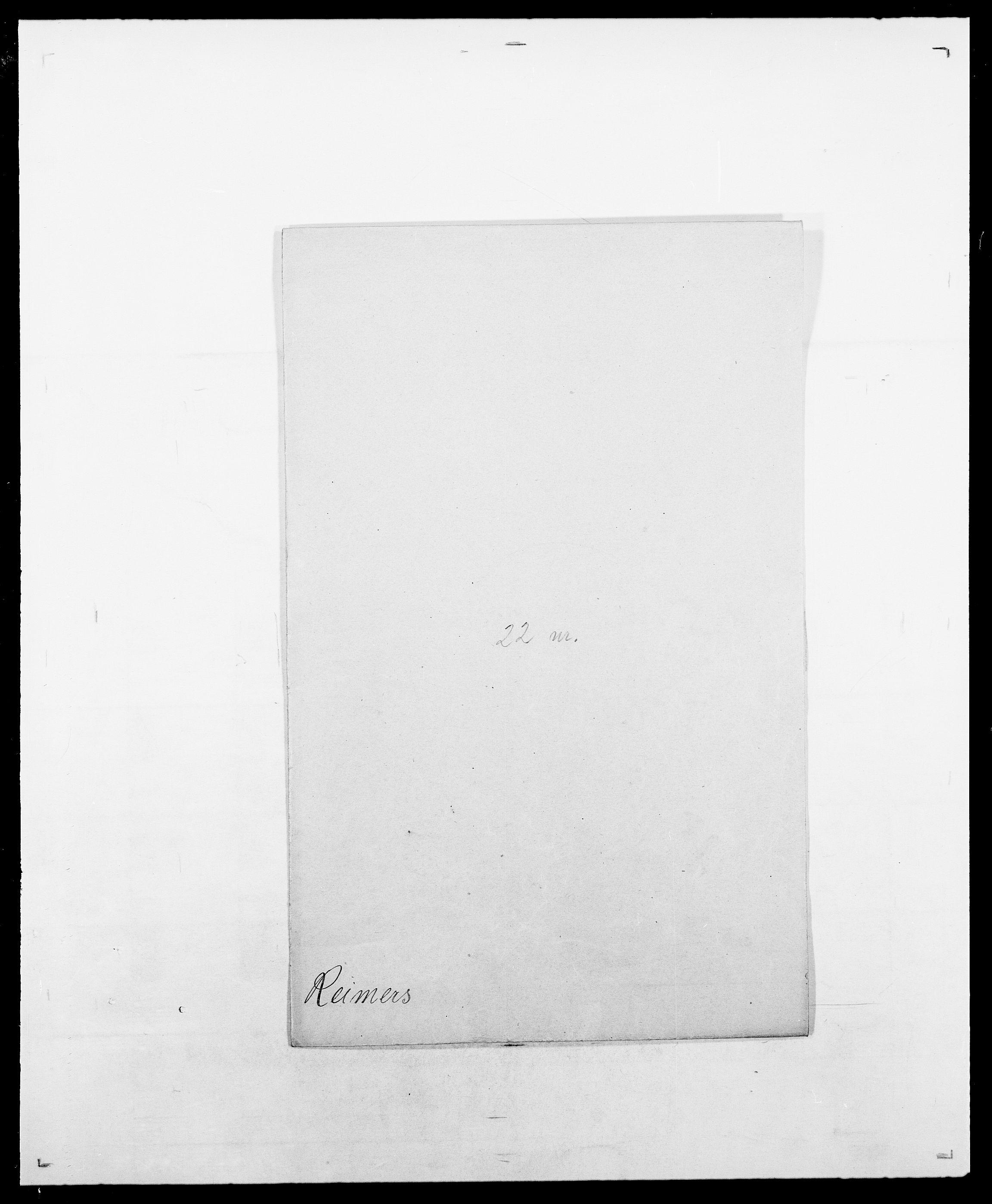 SAO, Delgobe, Charles Antoine - samling, D/Da/L0032: Rabakovsky - Rivertz, s. 324