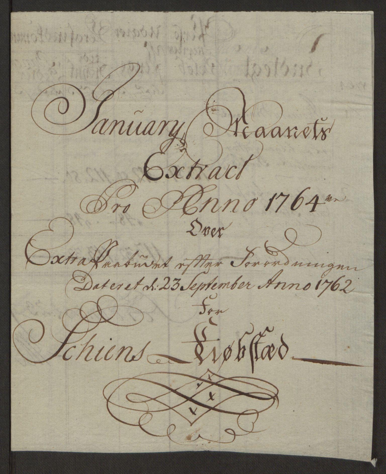 RA, Rentekammeret inntil 1814, Reviderte regnskaper, Byregnskaper, R/Rj/L0198: [J4] Kontribusjonsregnskap, 1762-1768, s. 181