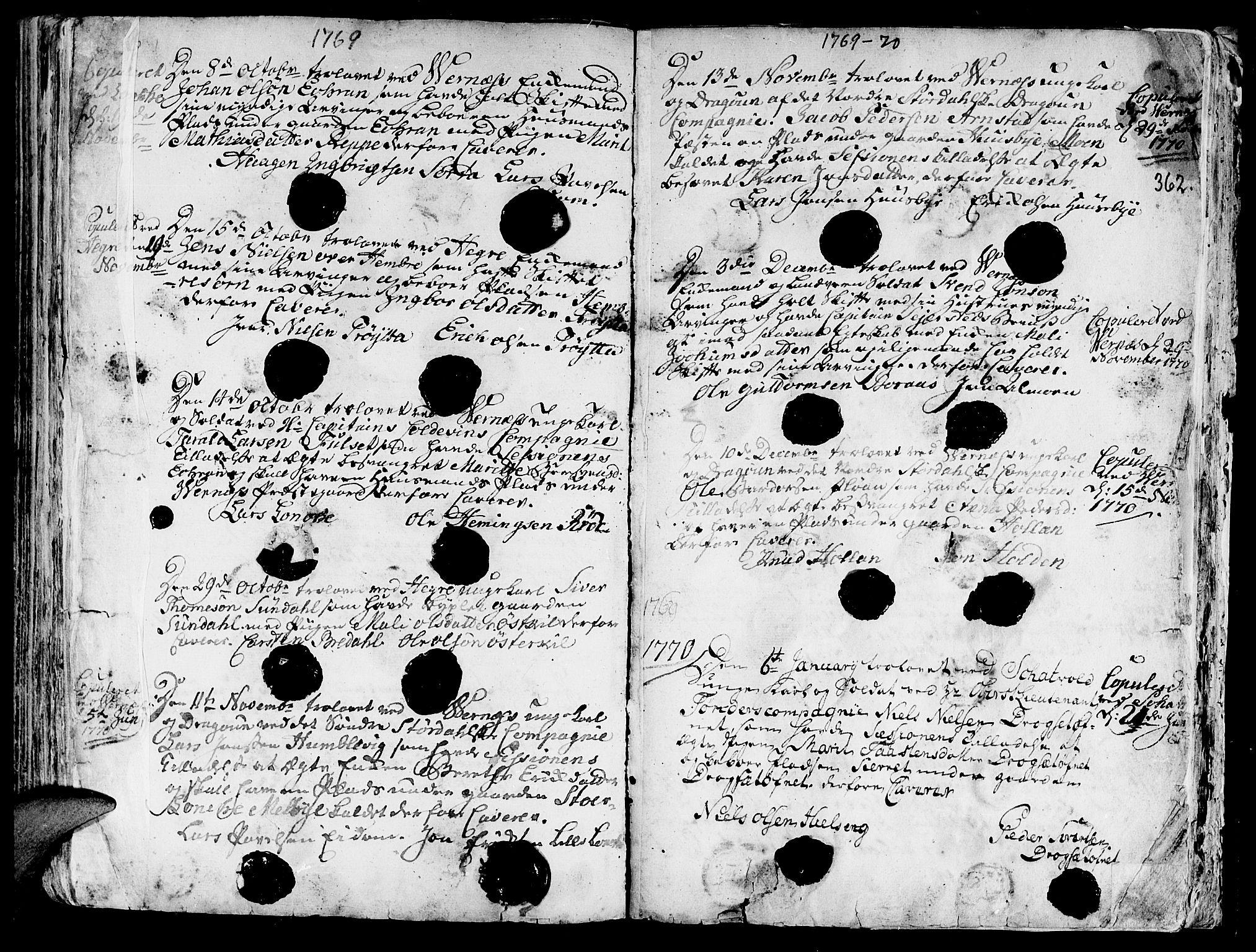 SAT, Ministerialprotokoller, klokkerbøker og fødselsregistre - Nord-Trøndelag, 709/L0057: Ministerialbok nr. 709A05, 1755-1780, s. 362