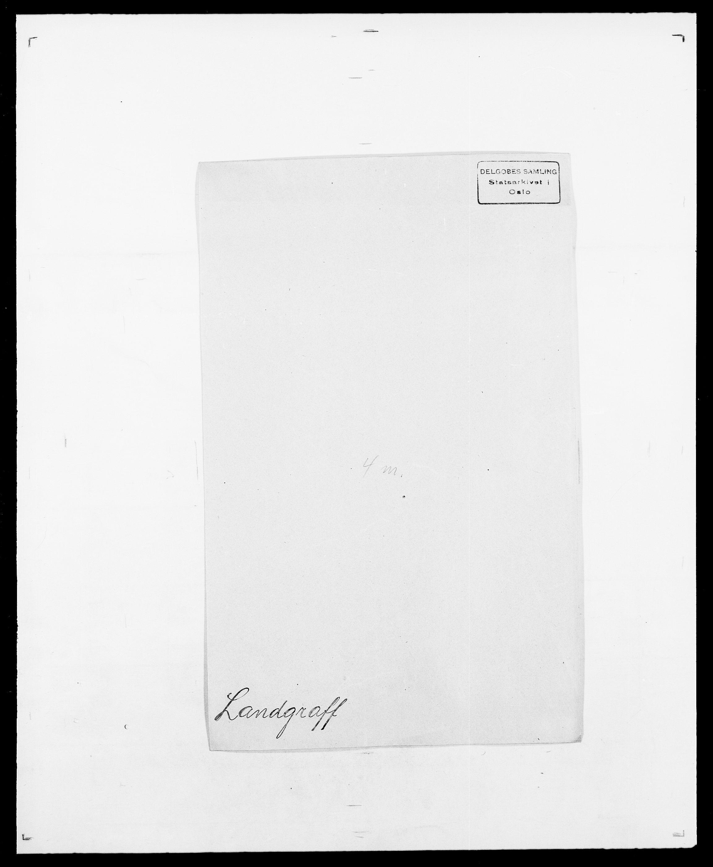 SAO, Delgobe, Charles Antoine - samling, D/Da/L0022: Krog - Lasteen, s. 502