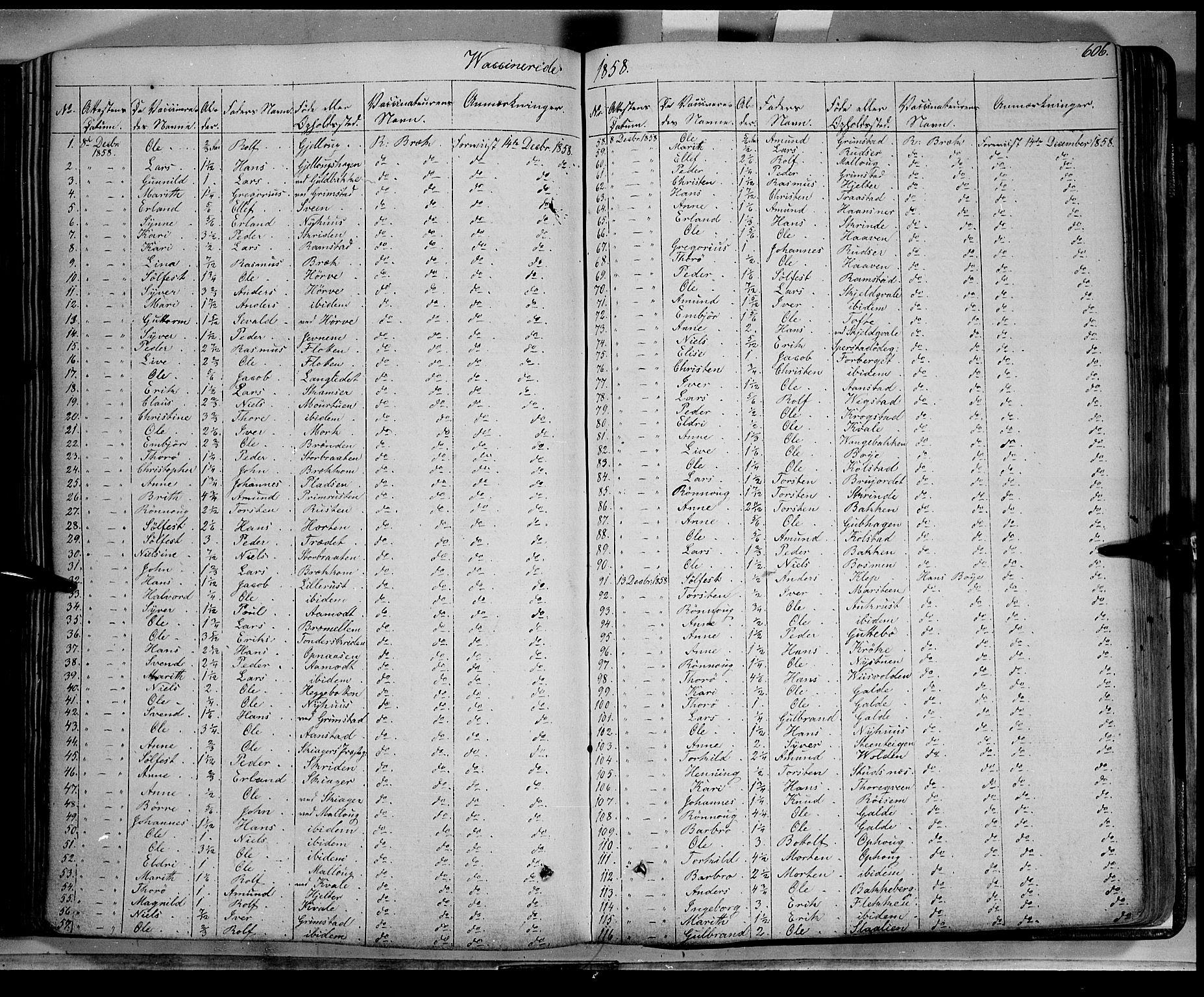 SAH, Lom prestekontor, K/L0006: Ministerialbok nr. 6B, 1837-1863, s. 606