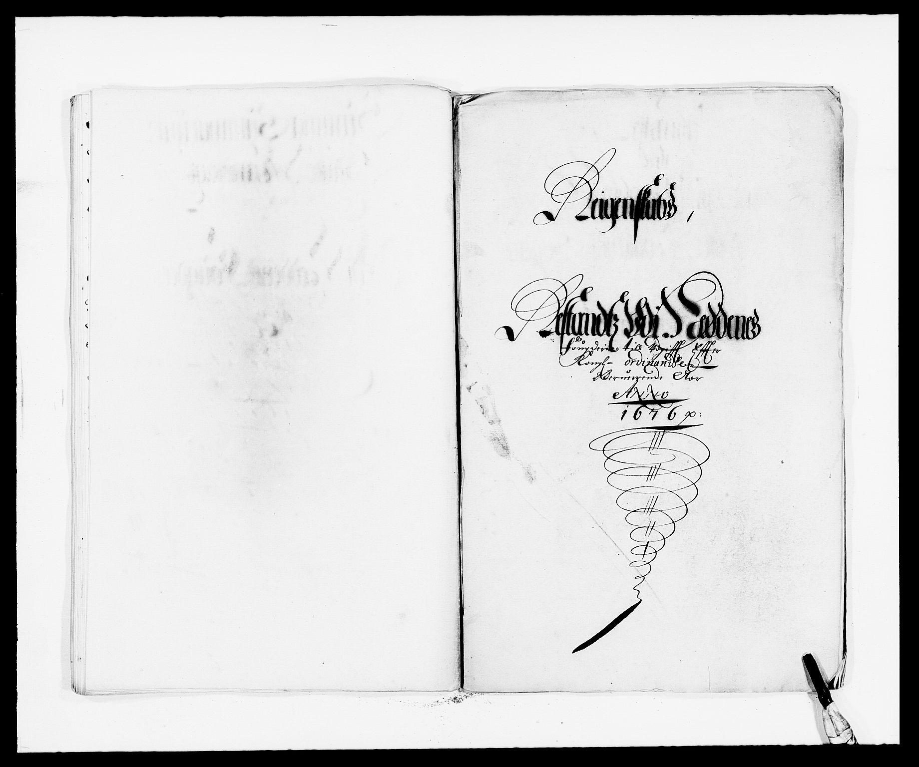 RA, Rentekammeret inntil 1814, Reviderte regnskaper, Fogderegnskap, R39/L2301: Fogderegnskap Nedenes, 1675-1676, s. 345