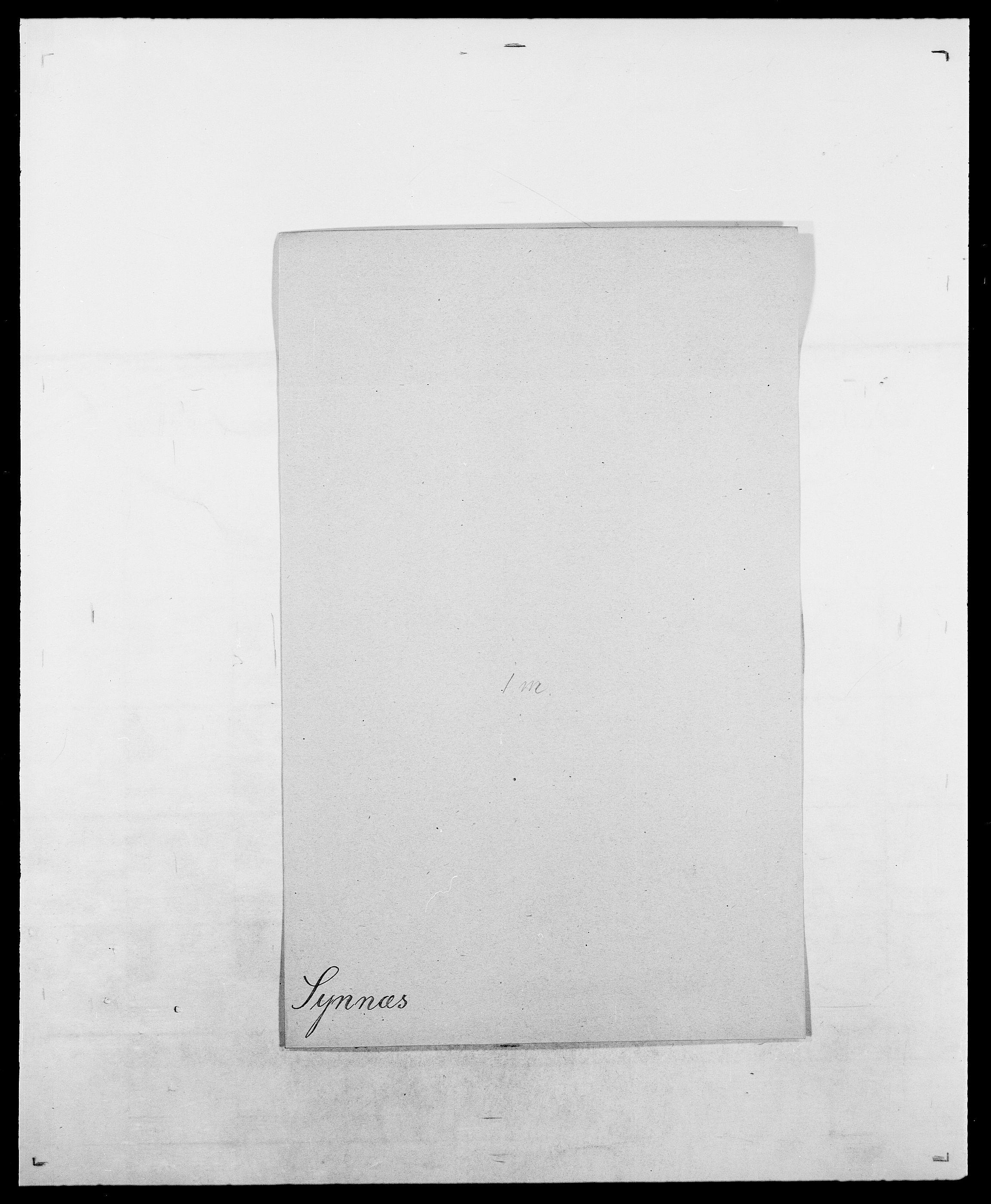 SAO, Delgobe, Charles Antoine - samling, D/Da/L0038: Svanenskjold - Thornsohn, s. 99