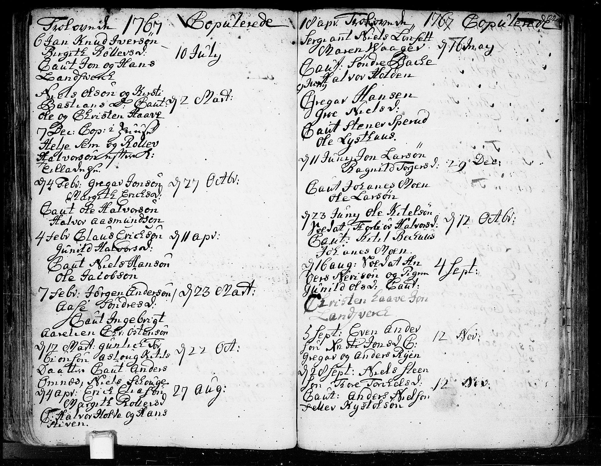 SAKO, Heddal kirkebøker, F/Fa/L0003: Ministerialbok nr. I 3, 1723-1783, s. 122