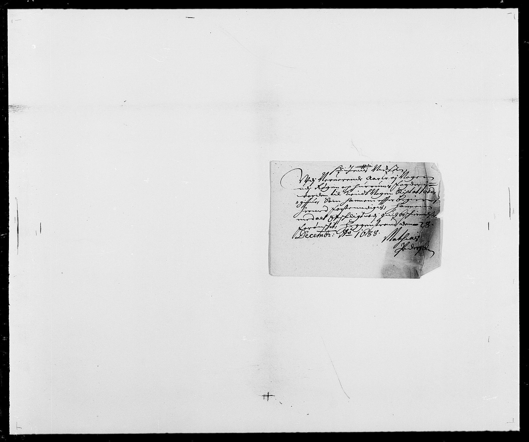 RA, Rentekammeret inntil 1814, Reviderte regnskaper, Fogderegnskap, R29/L1693: Fogderegnskap Hurum og Røyken, 1688-1693, s. 31