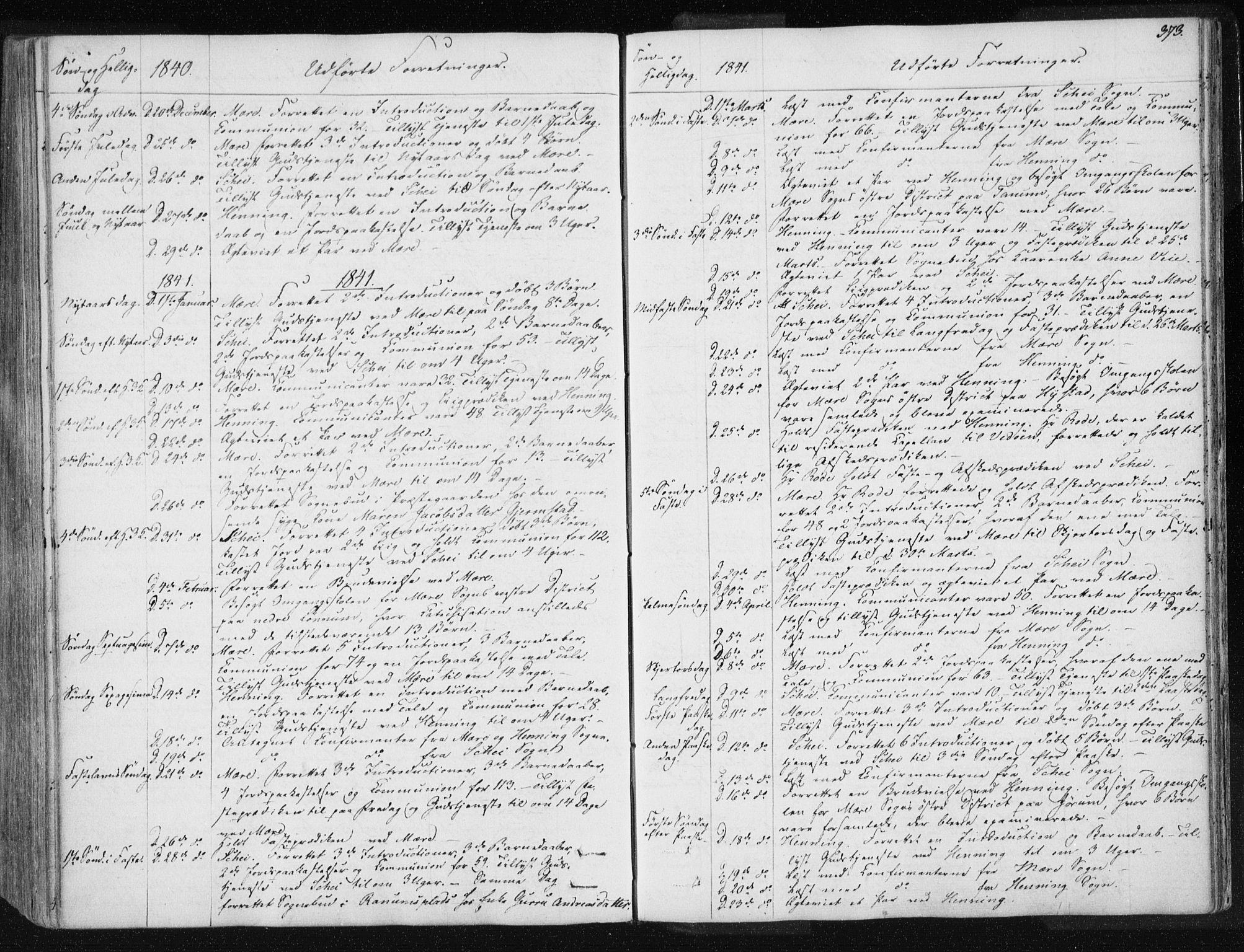 SAT, Ministerialprotokoller, klokkerbøker og fødselsregistre - Nord-Trøndelag, 735/L0339: Ministerialbok nr. 735A06 /1, 1836-1848, s. 373