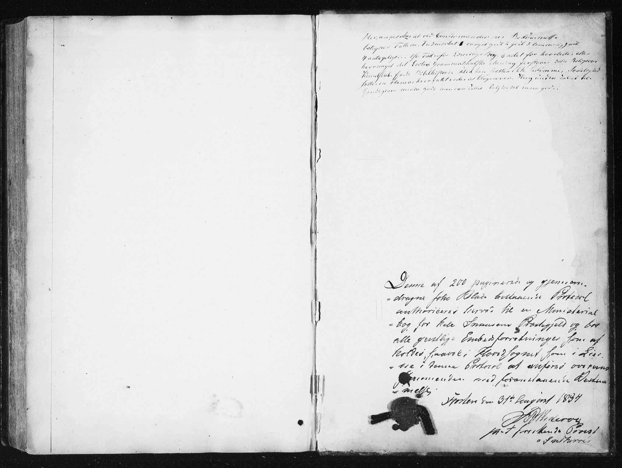 SAT, Ministerialprotokoller, klokkerbøker og fødselsregistre - Nord-Trøndelag, 749/L0470: Ministerialbok nr. 749A04, 1834-1853