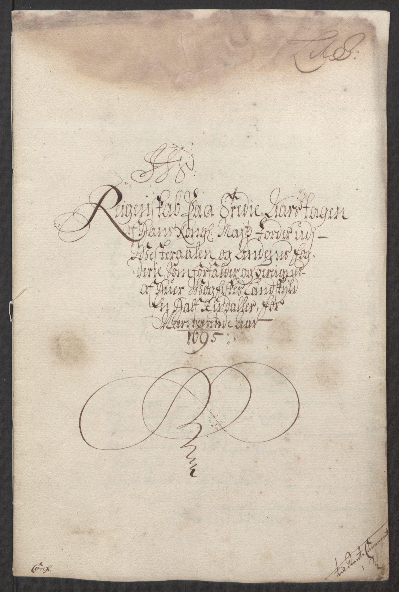 RA, Rentekammeret inntil 1814, Reviderte regnskaper, Fogderegnskap, R67/L4677: Fogderegnskap Vesterålen, Andenes og Lofoten, 1694-1695, s. 296