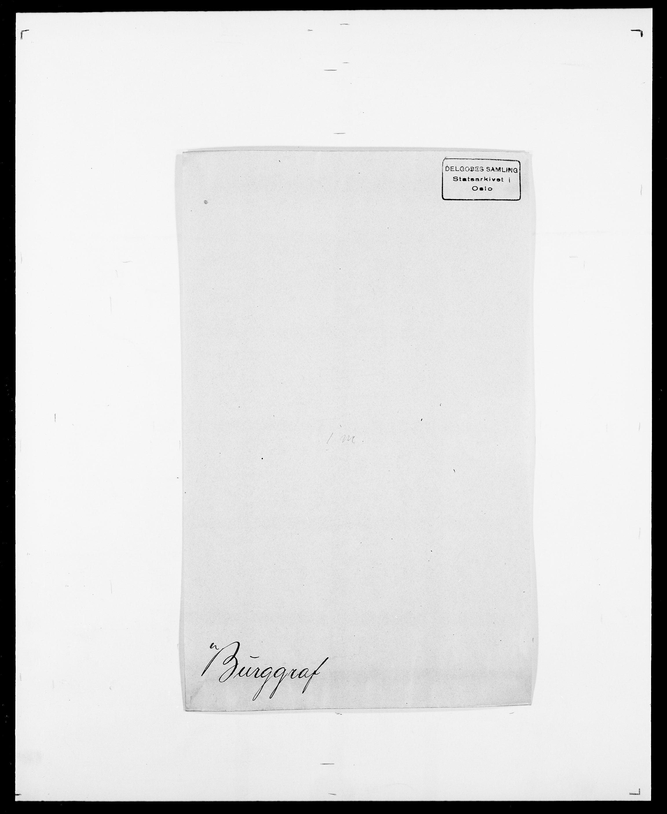 SAO, Delgobe, Charles Antoine - samling, D/Da/L0007: Buaas - Caphengst, s. 431