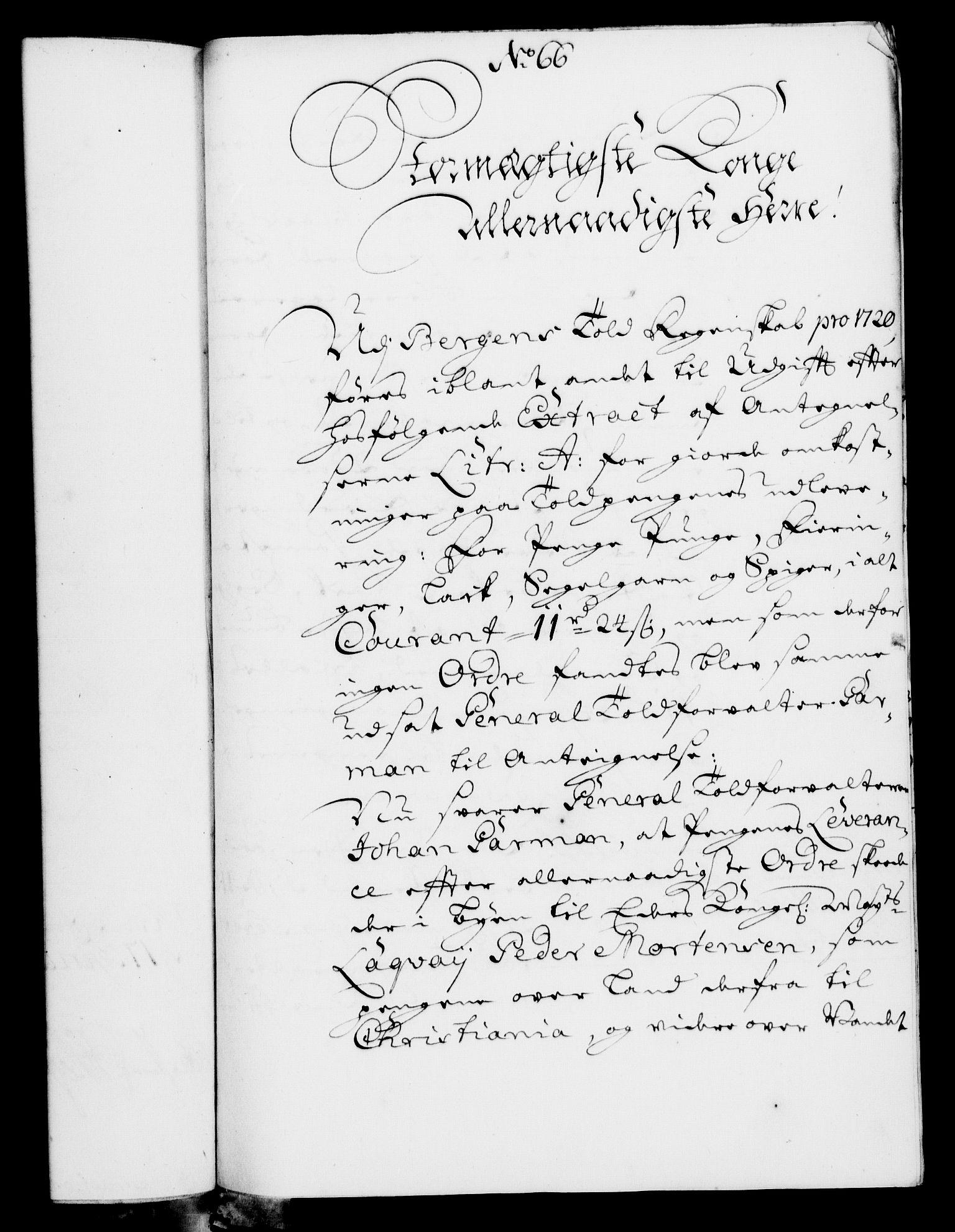 RA, Rentekammeret, Kammerkanselliet, G/Gf/Gfa/L0007: Norsk relasjons- og resolusjonsprotokoll (merket RK 52.7), 1724, s. 447