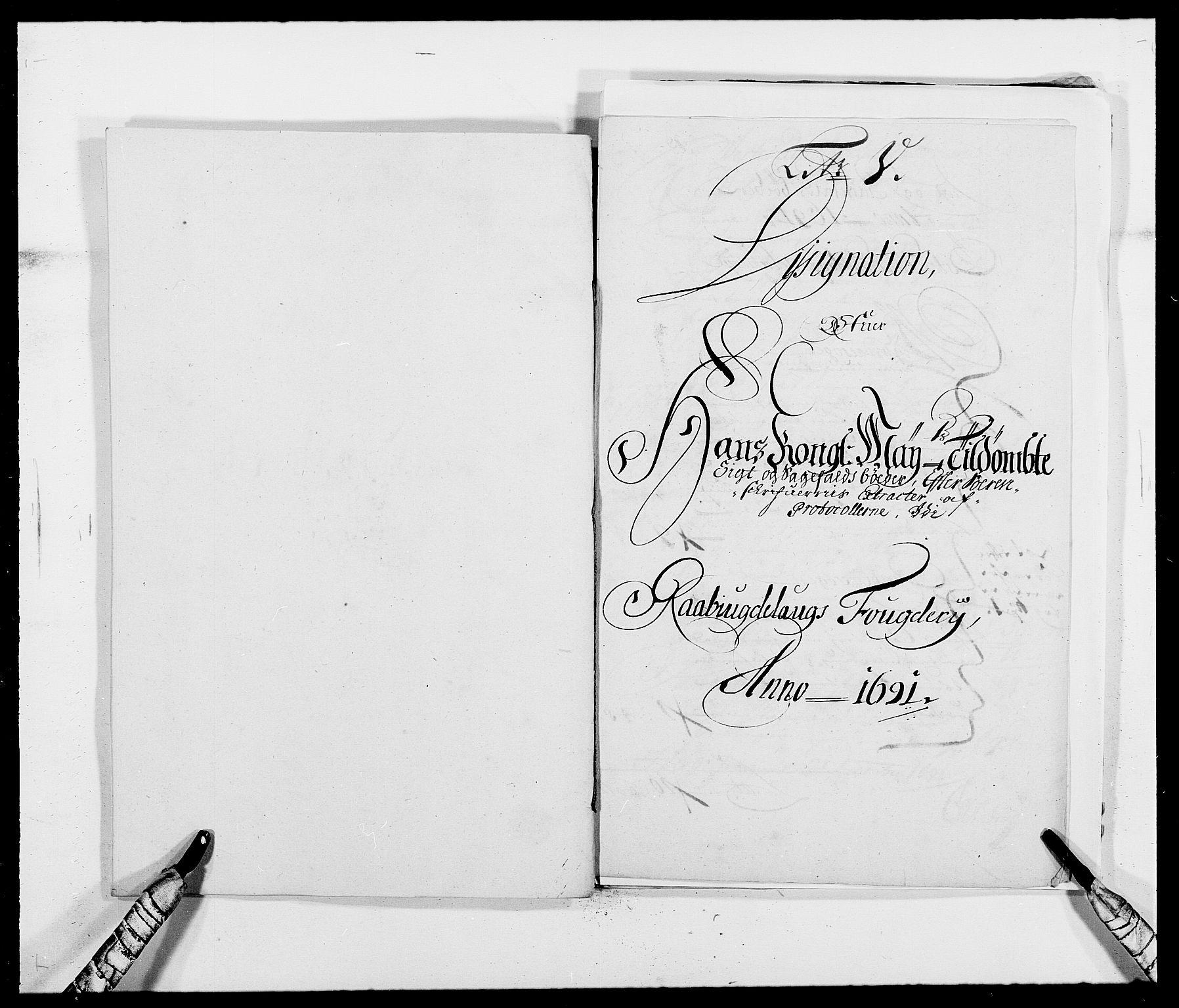 RA, Rentekammeret inntil 1814, Reviderte regnskaper, Fogderegnskap, R40/L2443: Fogderegnskap Råbyggelag, 1691-1692, s. 27