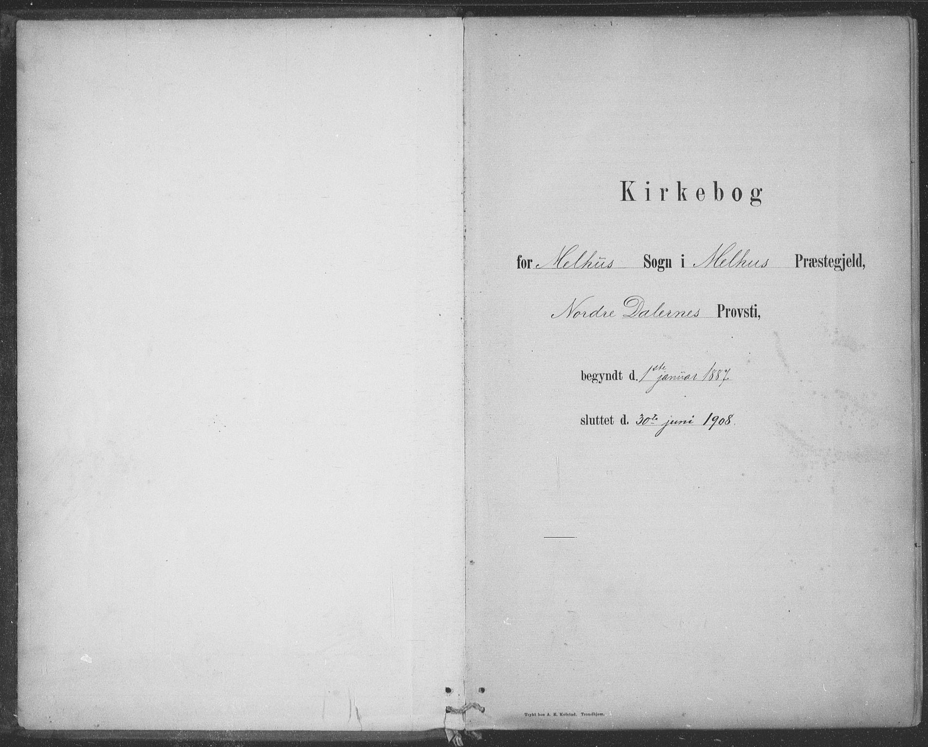 SAT, Ministerialprotokoller, klokkerbøker og fødselsregistre - Sør-Trøndelag, 691/L1085: Ministerialbok nr. 691A17, 1887-1908
