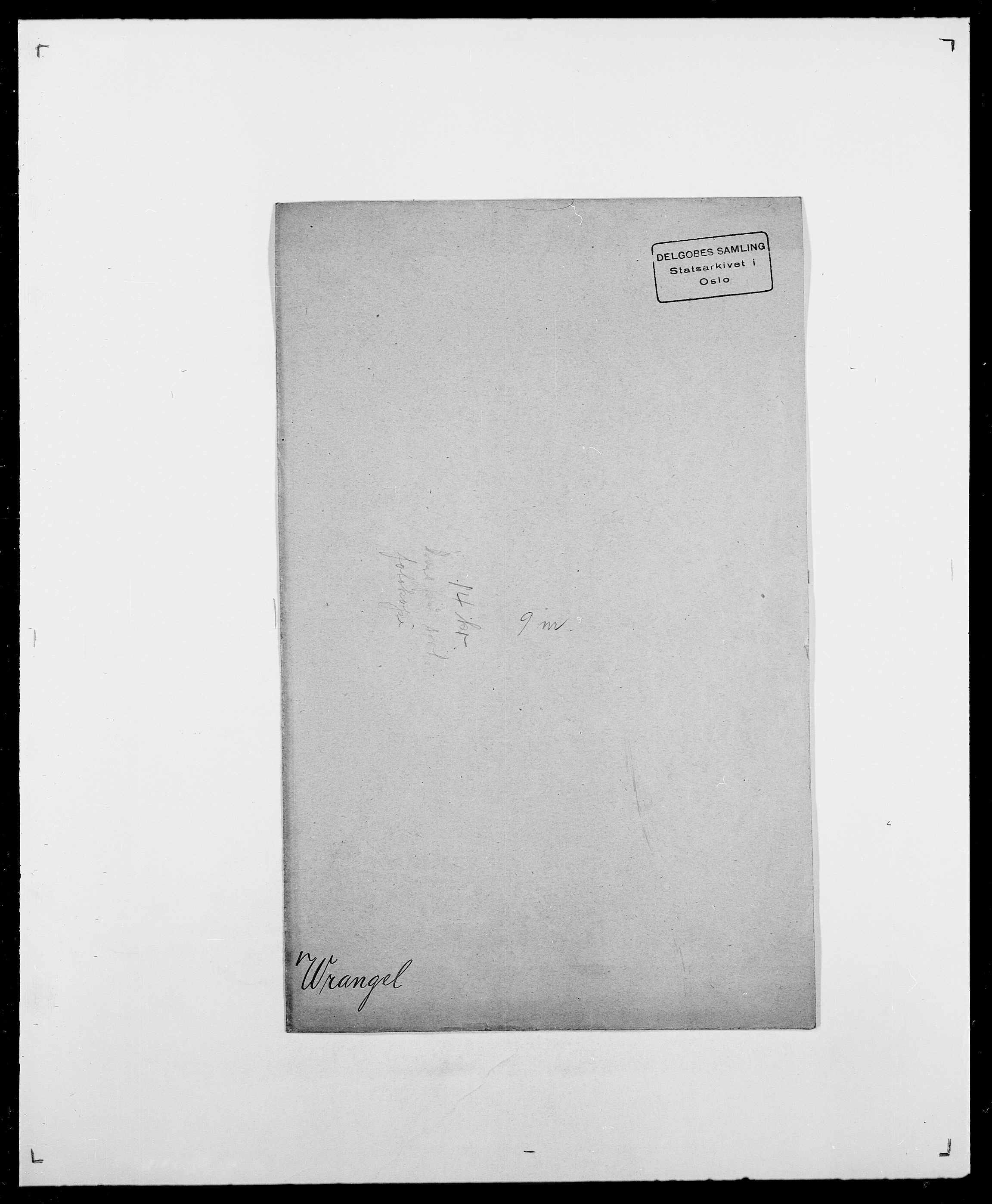 SAO, Delgobe, Charles Antoine - samling, D/Da/L0042: Vilain - Wulf, Wulff, se også Wolf, s. 729