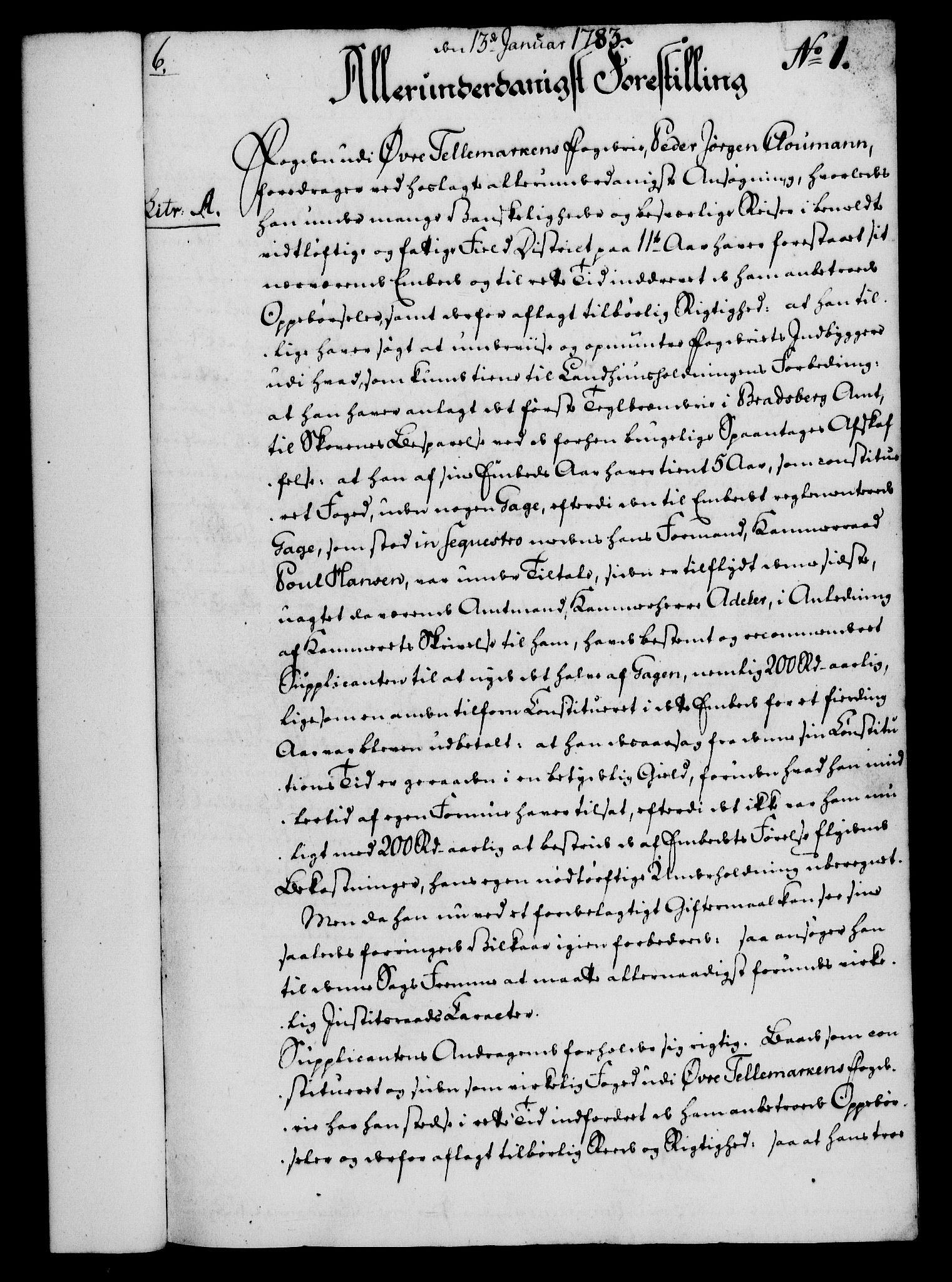RA, Rentekammeret, Kammerkanselliet, G/Gf/Gfa/L0065: Norsk relasjons- og resolusjonsprotokoll (merket RK 52.65), 1783, s. 28