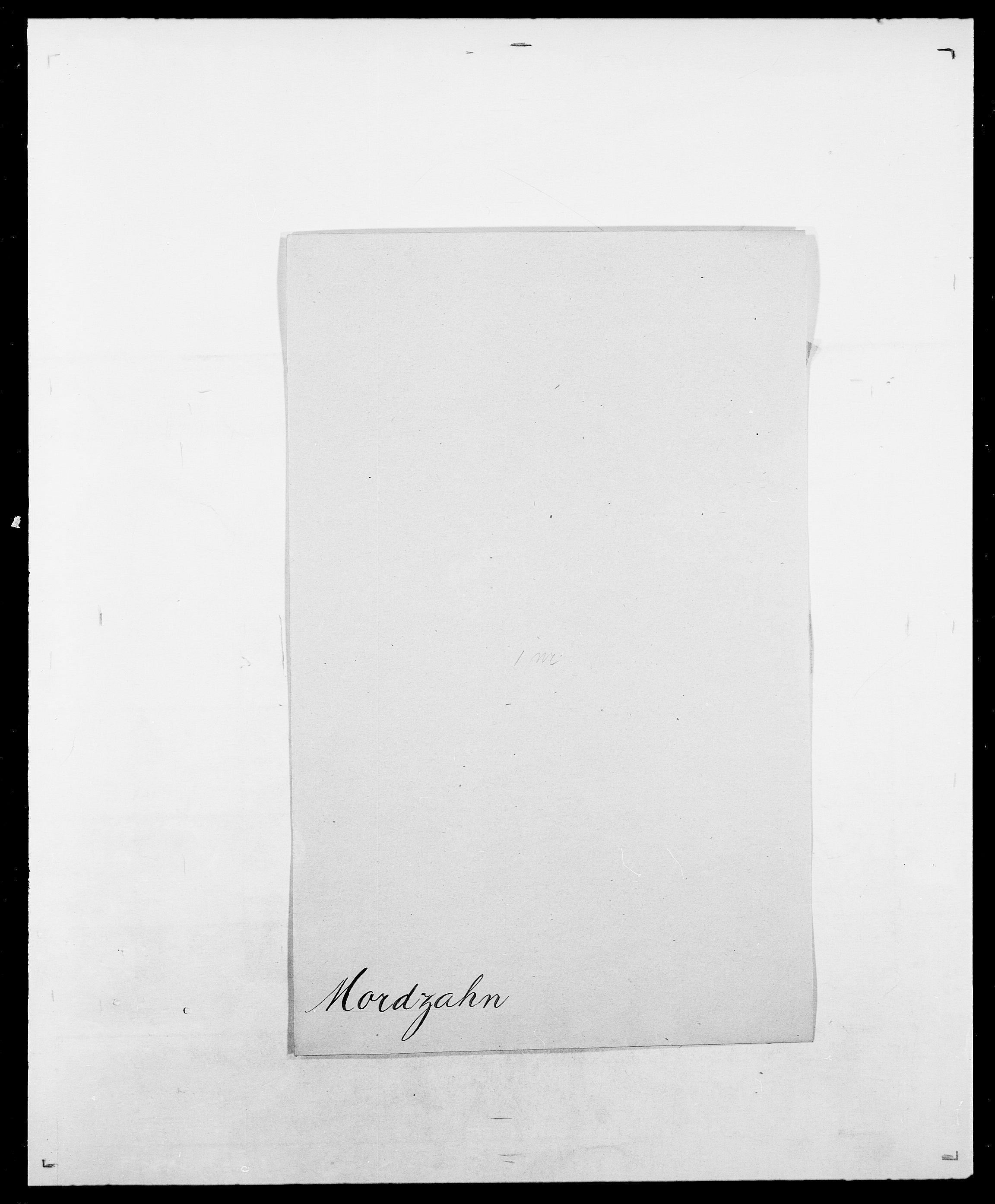 SAO, Delgobe, Charles Antoine - samling, D/Da/L0027: Morath - v. Møsting, s. 5