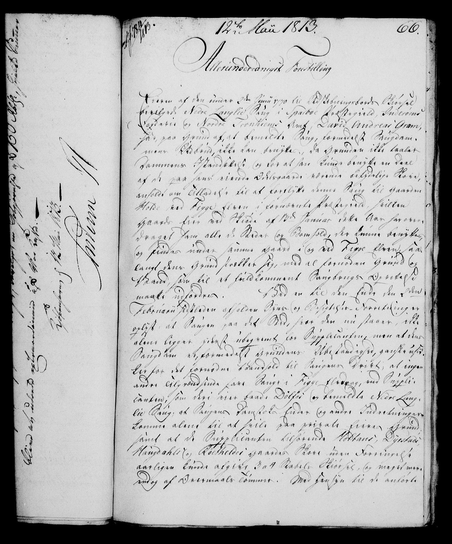 RA, Rentekammeret, Kammerkanselliet, G/Gf/Gfa/L0095: Norsk relasjons- og resolusjonsprotokoll (merket RK 52.95), 1813-1814, s. 269