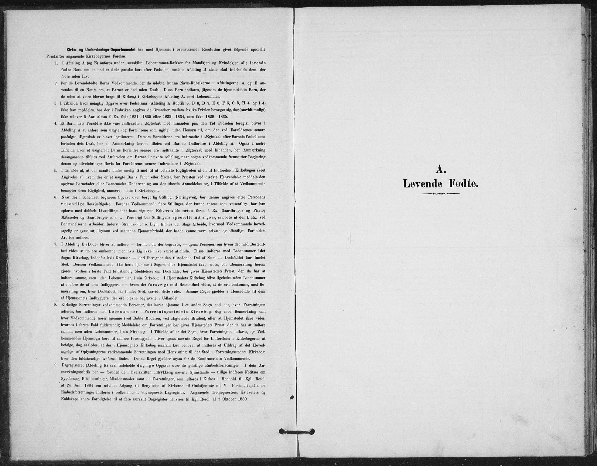 SAH, Vestre Gausdal prestekontor, Klokkerbok nr. 4, 1898-1939