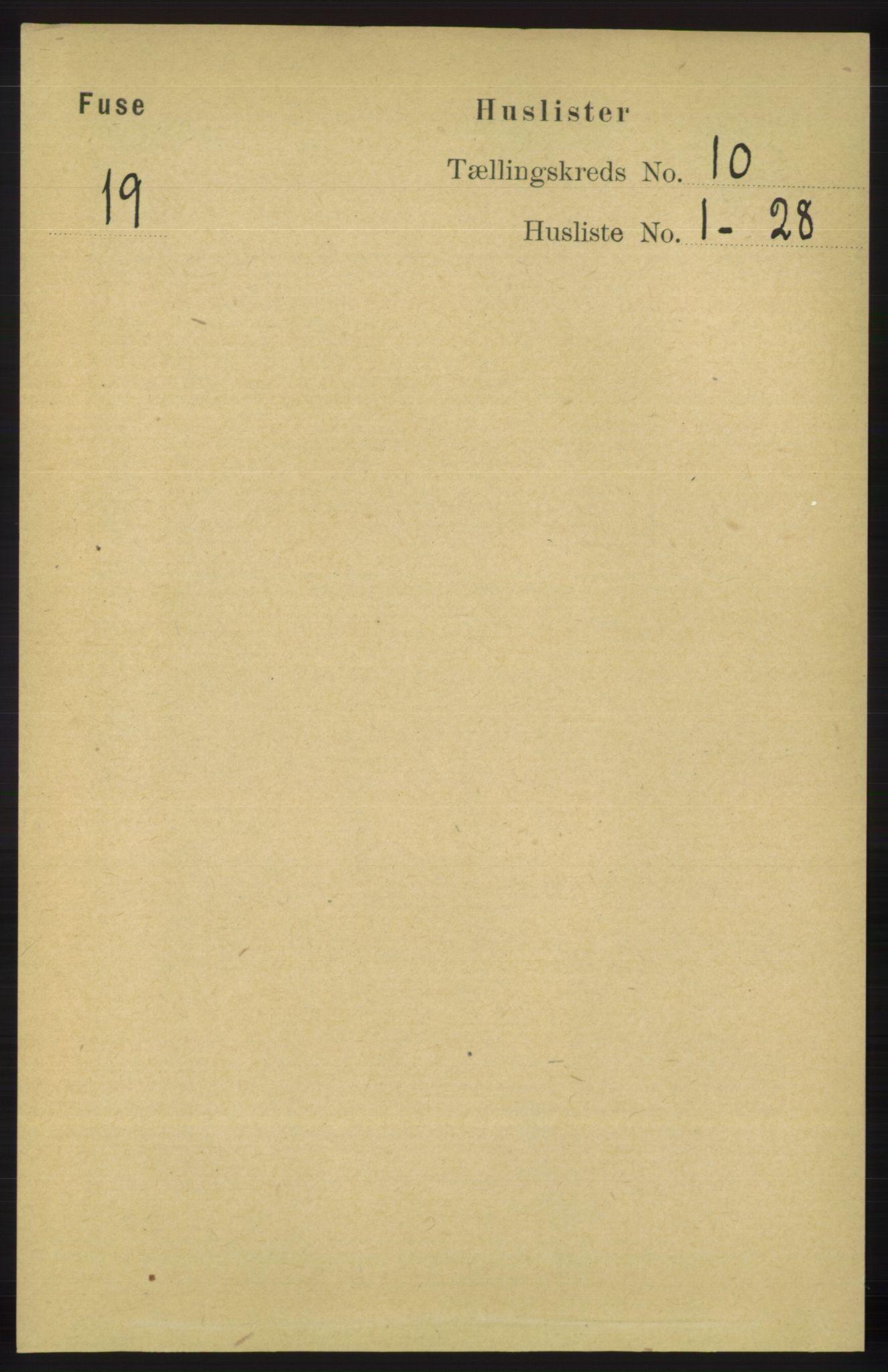 RA, Folketelling 1891 for 1241 Fusa herred, 1891, s. 1886