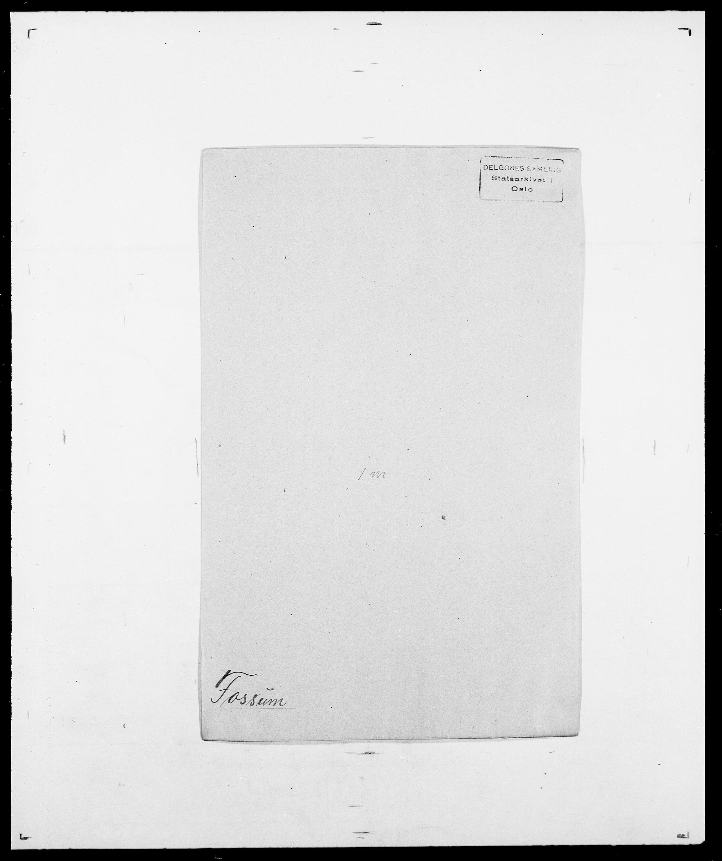SAO, Delgobe, Charles Antoine - samling, D/Da/L0012: Flor, Floer, Flohr - Fritzner, s. 665
