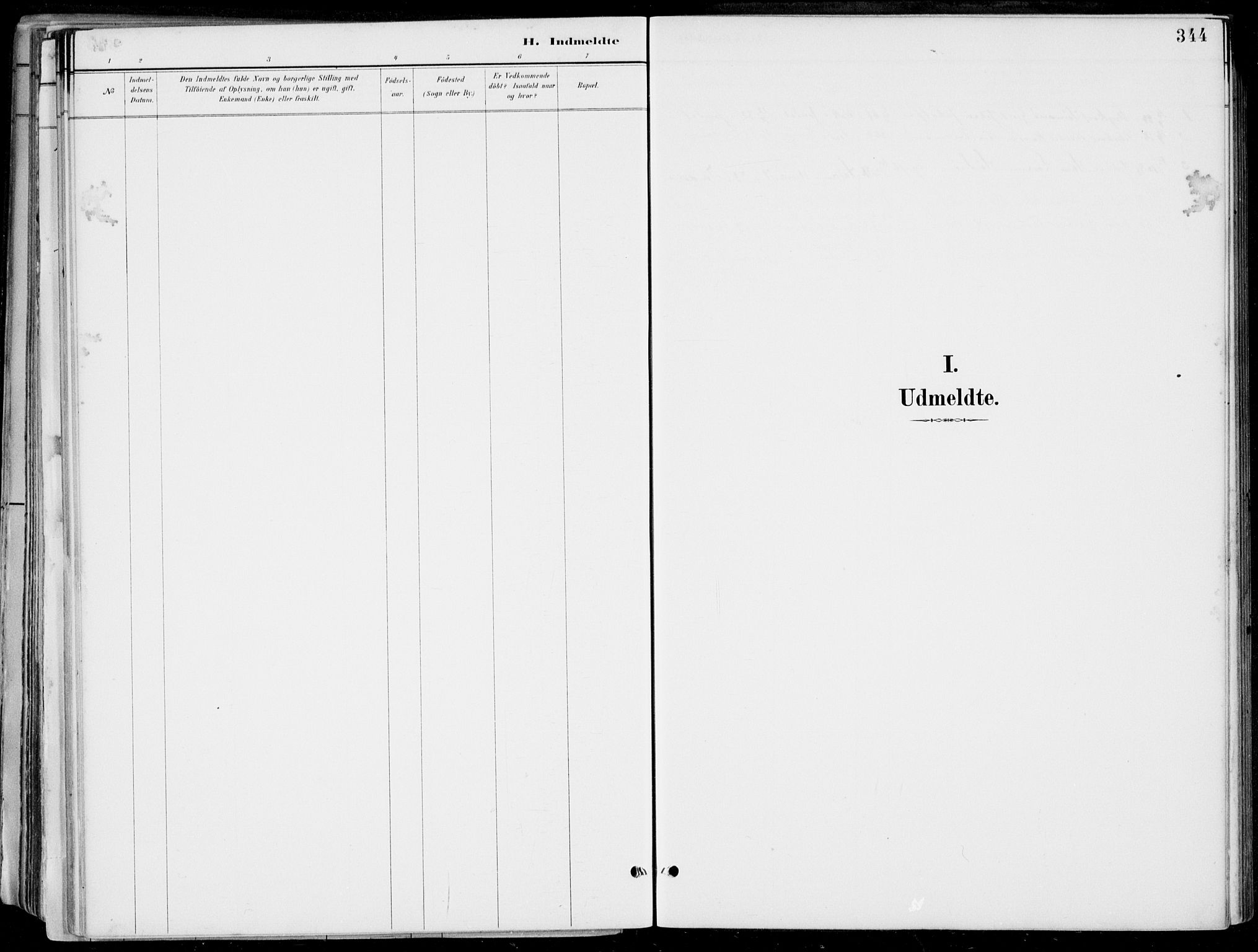 SAB, Strandebarm Sokneprestembete, H/Haa: Ministerialbok nr. E  1, 1886-1908, s. 344
