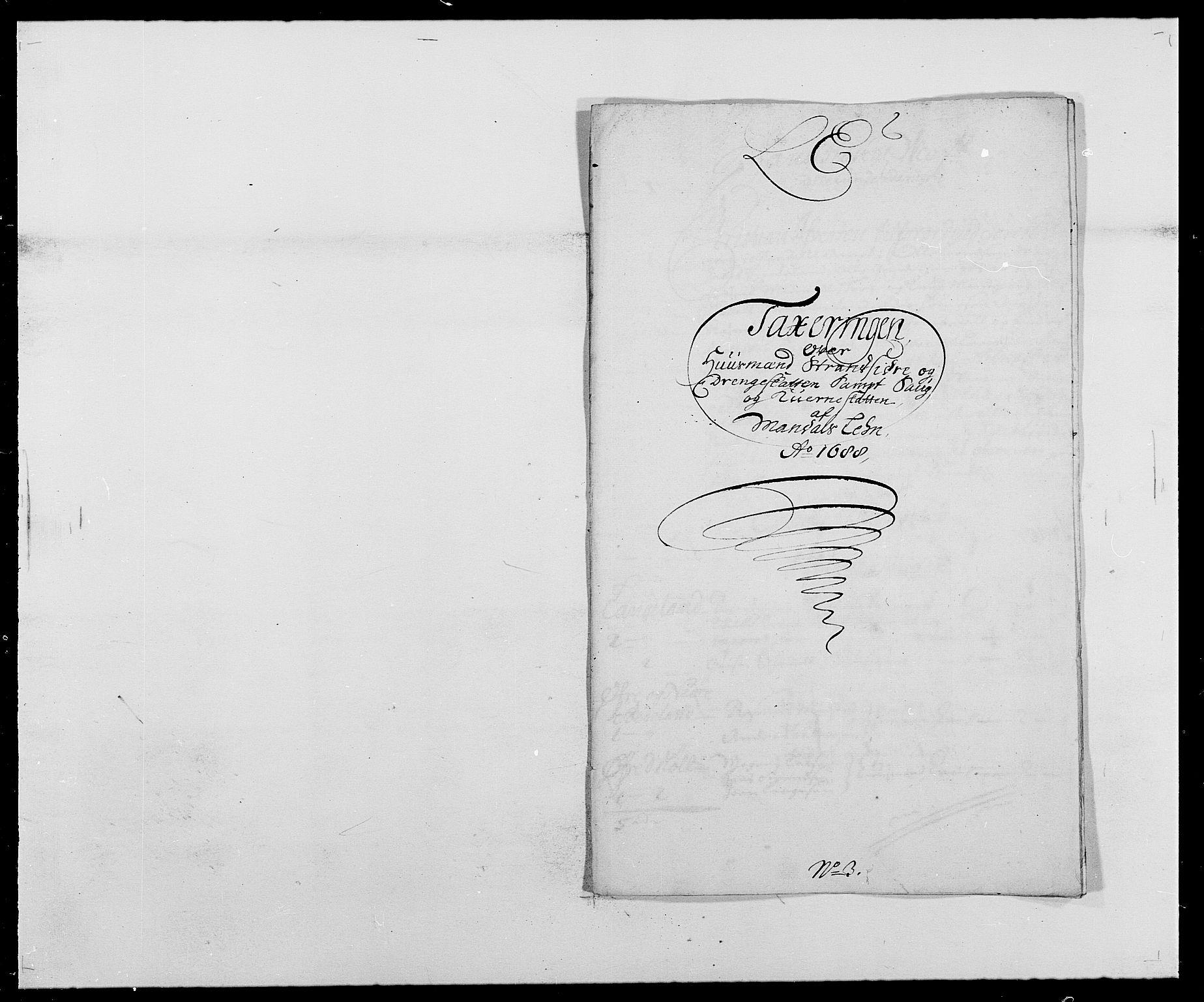 RA, Rentekammeret inntil 1814, Reviderte regnskaper, Fogderegnskap, R42/L2543: Mandal fogderi, 1688-1691, s. 71