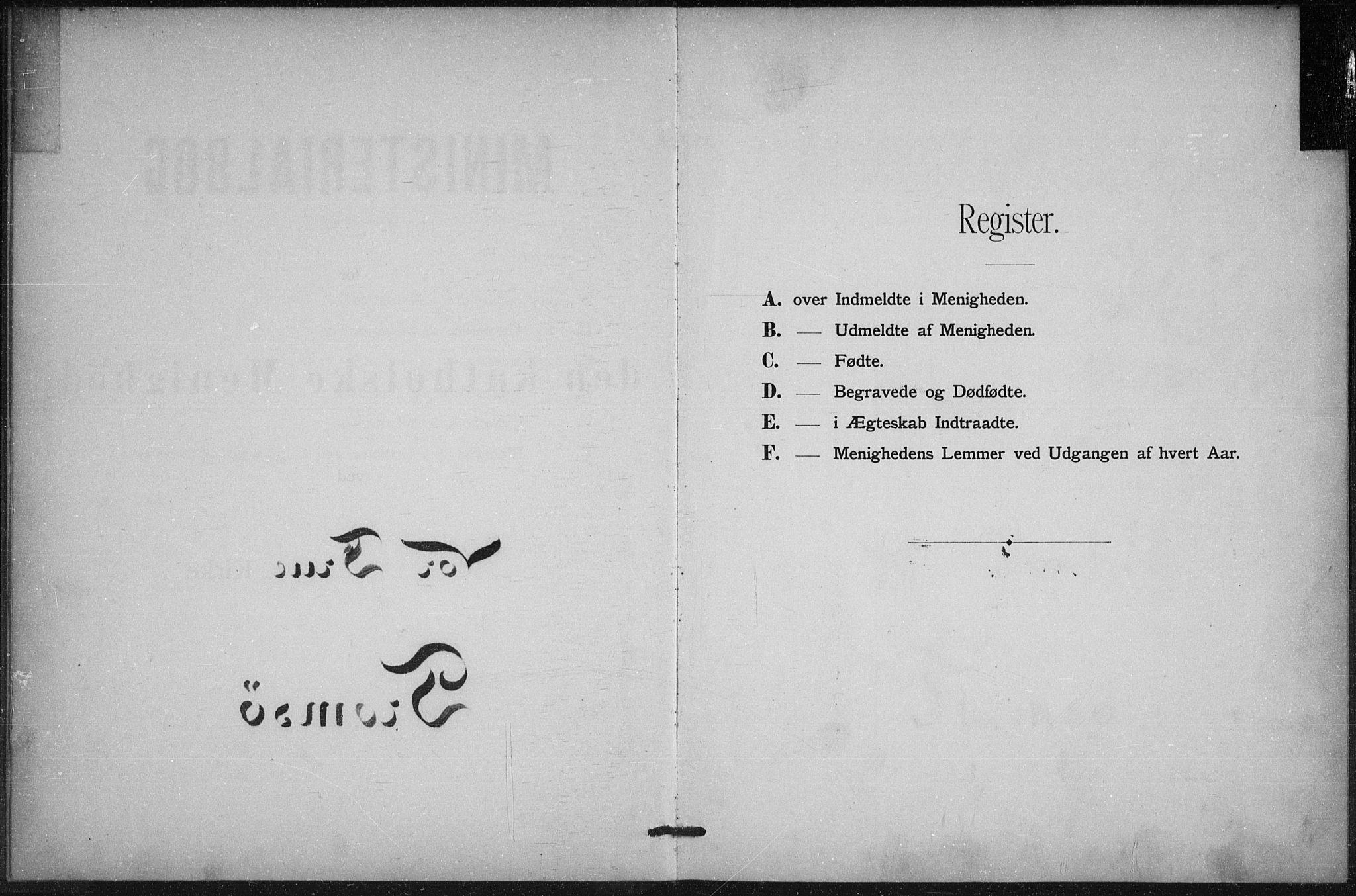 SATØ, Uten arkivreferanse, Dissenterprotokoll nr. DP 2, 1890-1902