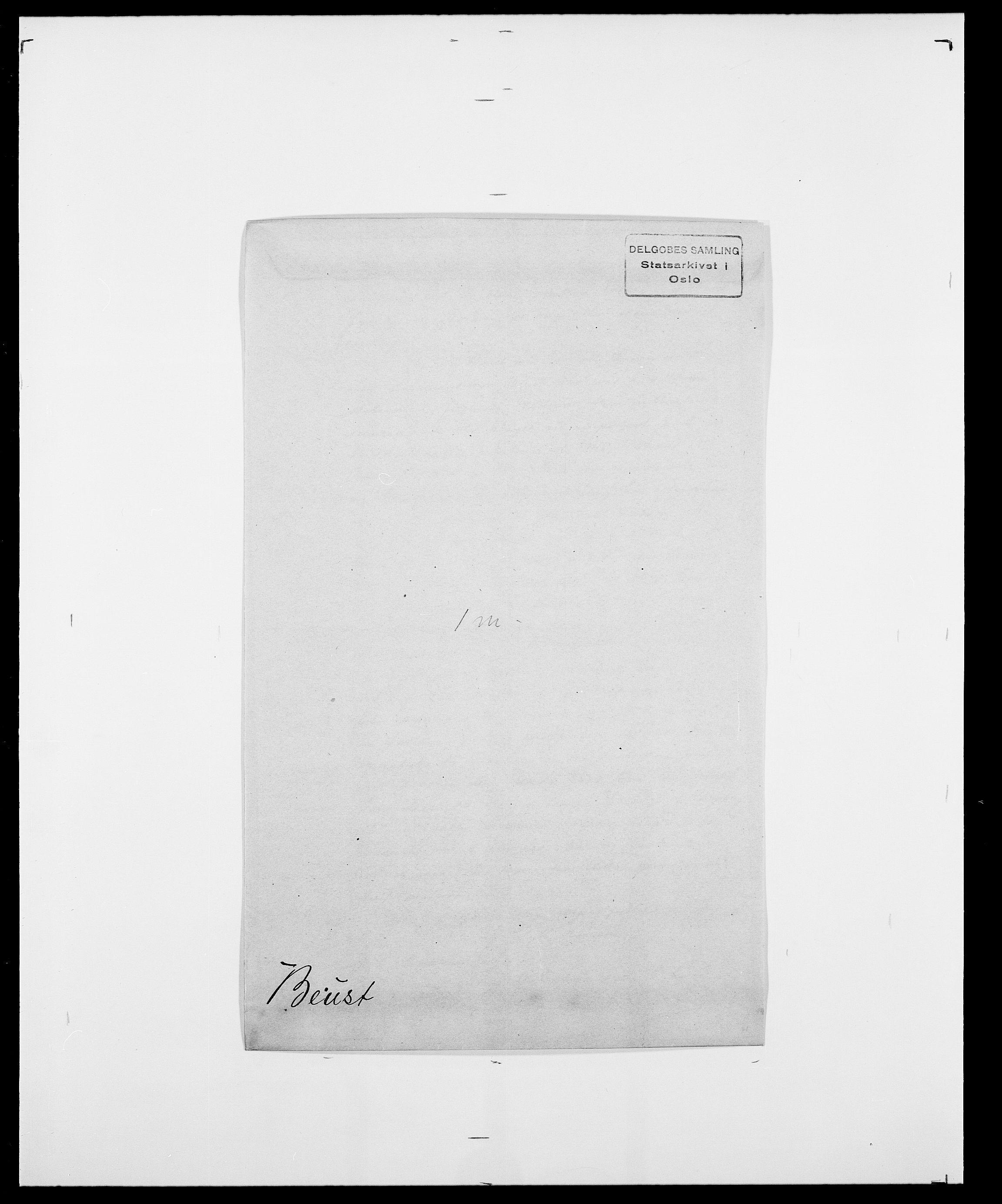 SAO, Delgobe, Charles Antoine - samling, D/Da/L0004: Bergendahl - Blære, s. 144