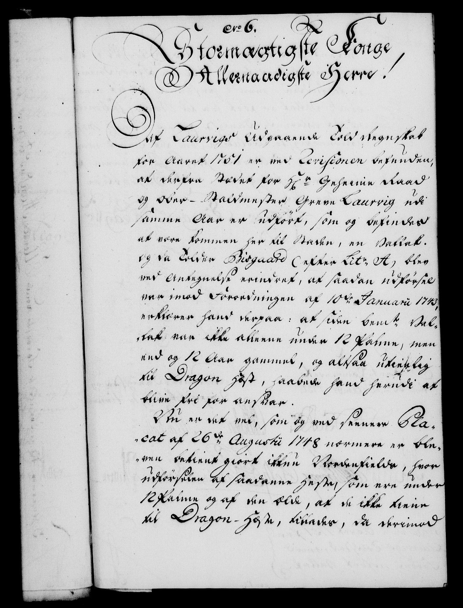 RA, Rentekammeret, Kammerkanselliet, G/Gf/Gfa/L0035: Norsk relasjons- og resolusjonsprotokoll (merket RK 52.35), 1753, s. 48