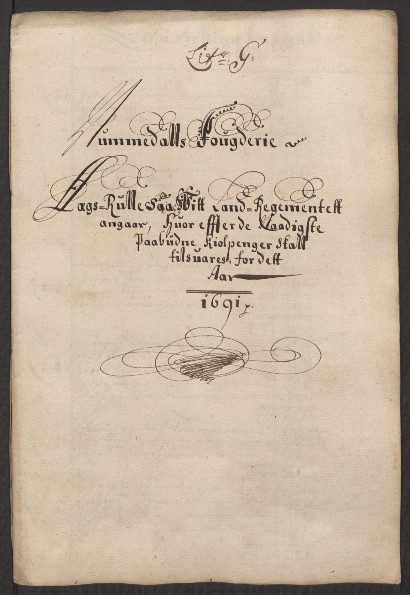RA, Rentekammeret inntil 1814, Reviderte regnskaper, Fogderegnskap, R64/L4423: Fogderegnskap Namdal, 1690-1691, s. 232