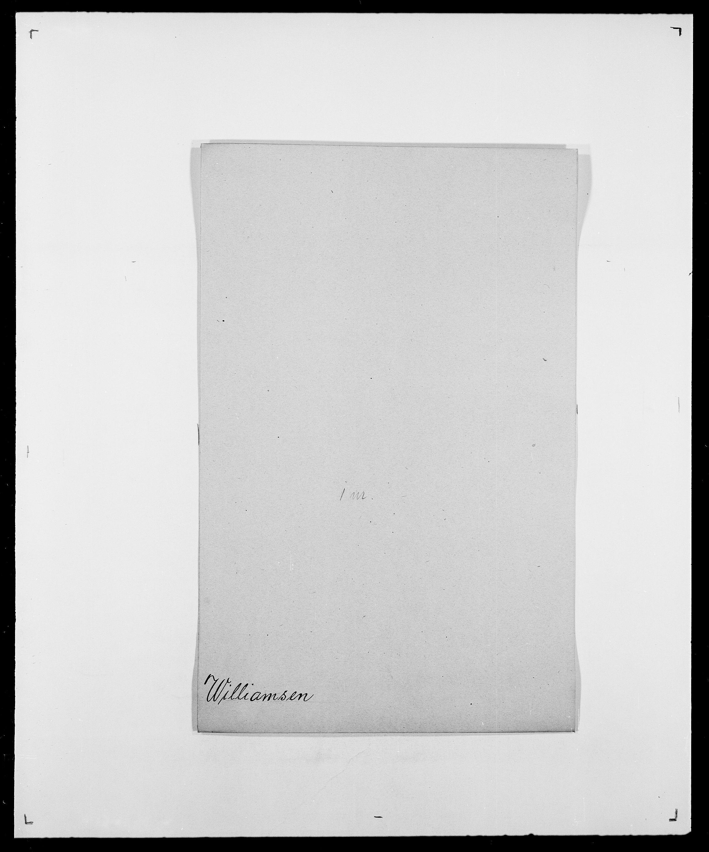 SAO, Delgobe, Charles Antoine - samling, D/Da/L0042: Vilain - Wulf, Wulff, se også Wolf, s. 88
