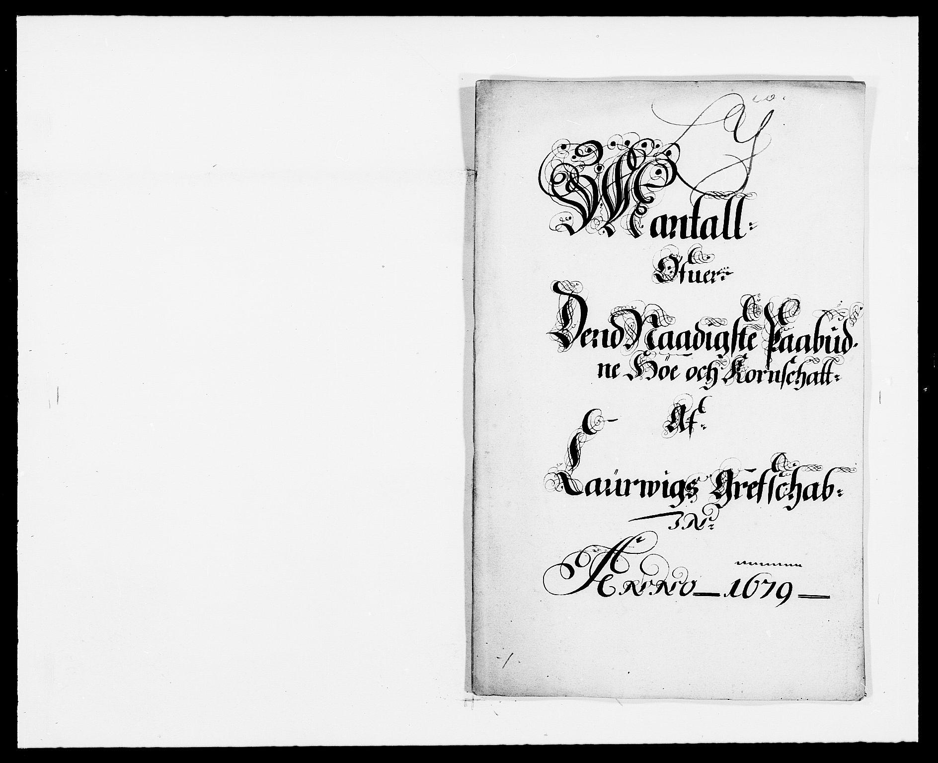 RA, Rentekammeret inntil 1814, Reviderte regnskaper, Fogderegnskap, R33/L1968: Fogderegnskap Larvik grevskap, 1675-1687, s. 309