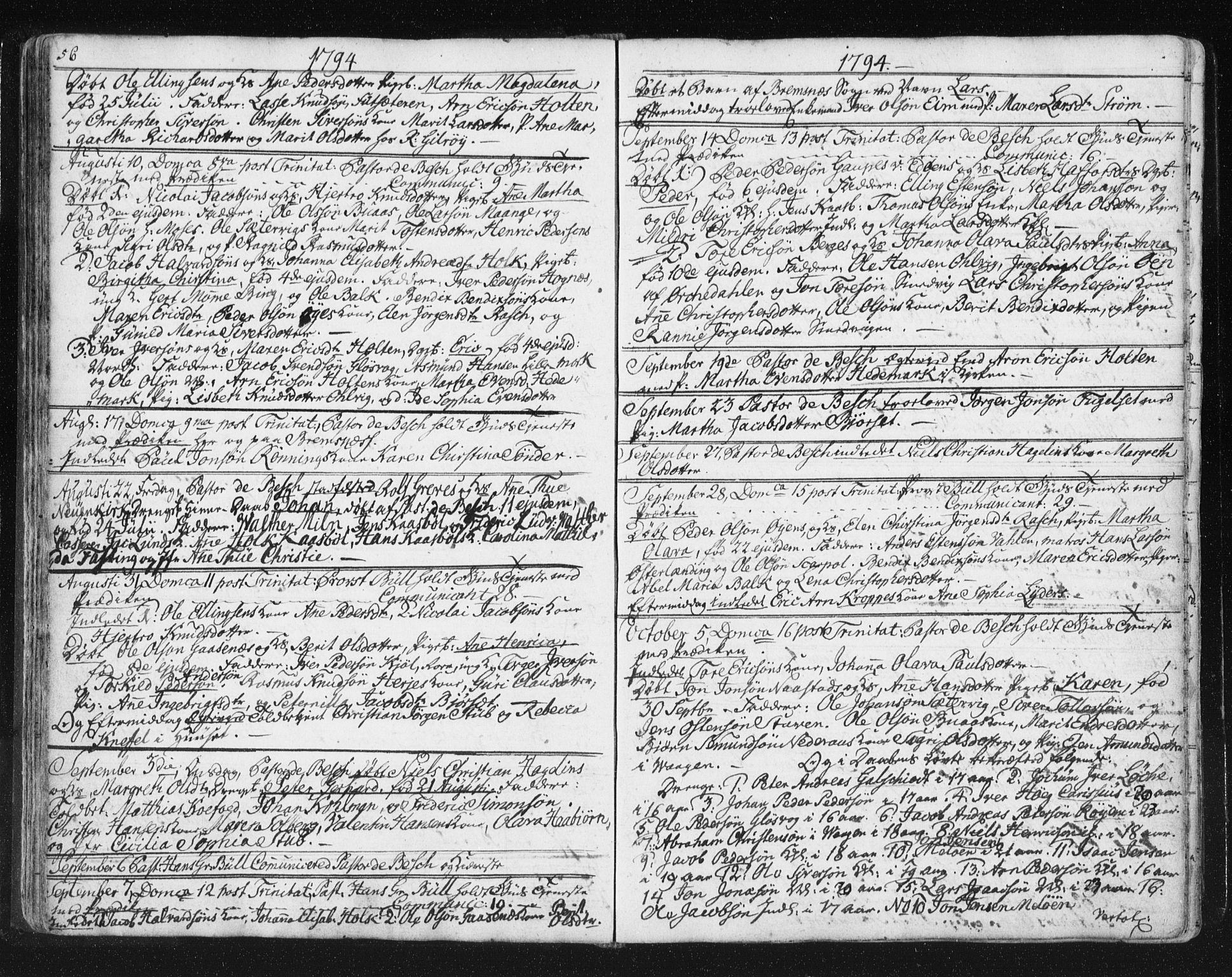 SAT, Ministerialprotokoller, klokkerbøker og fødselsregistre - Møre og Romsdal, 572/L0841: Ministerialbok nr. 572A04, 1784-1819, s. 56