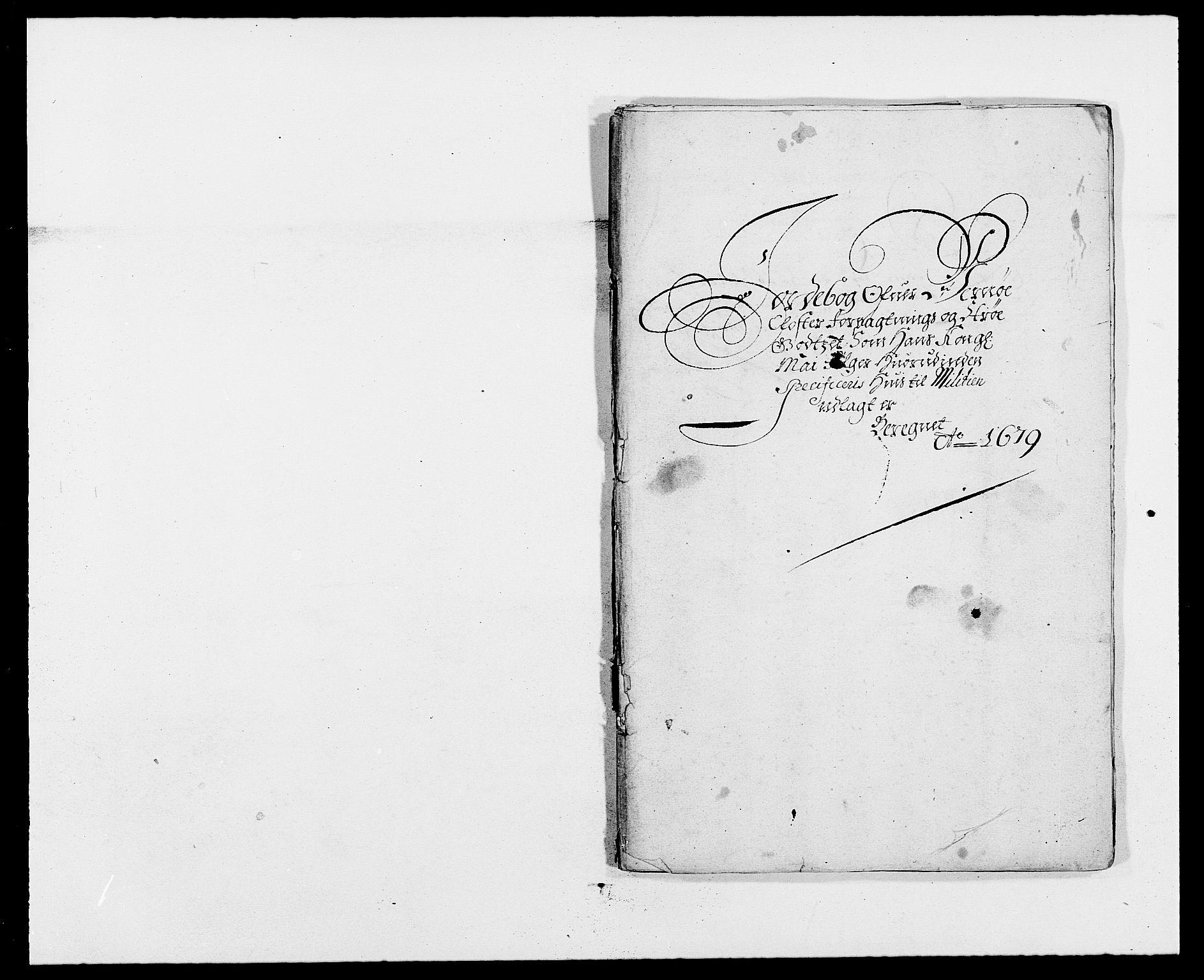 RA, Rentekammeret inntil 1814, Reviderte regnskaper, Fogderegnskap, R02/L0100: Fogderegnskap Moss og Verne kloster, 1679, s. 88
