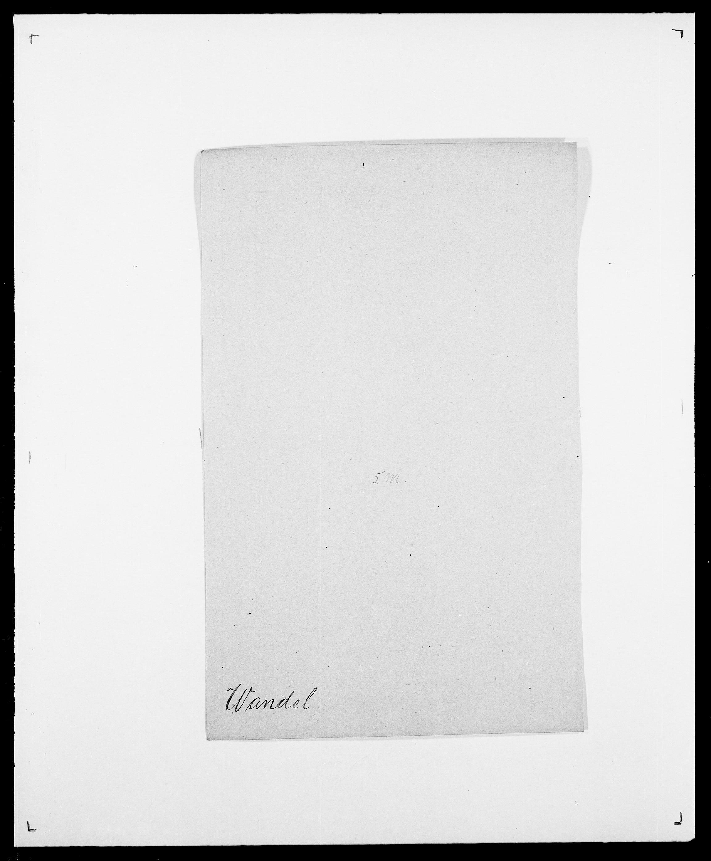 SAO, Delgobe, Charles Antoine - samling, D/Da/L0040: Usgaard - Velund, s. 275