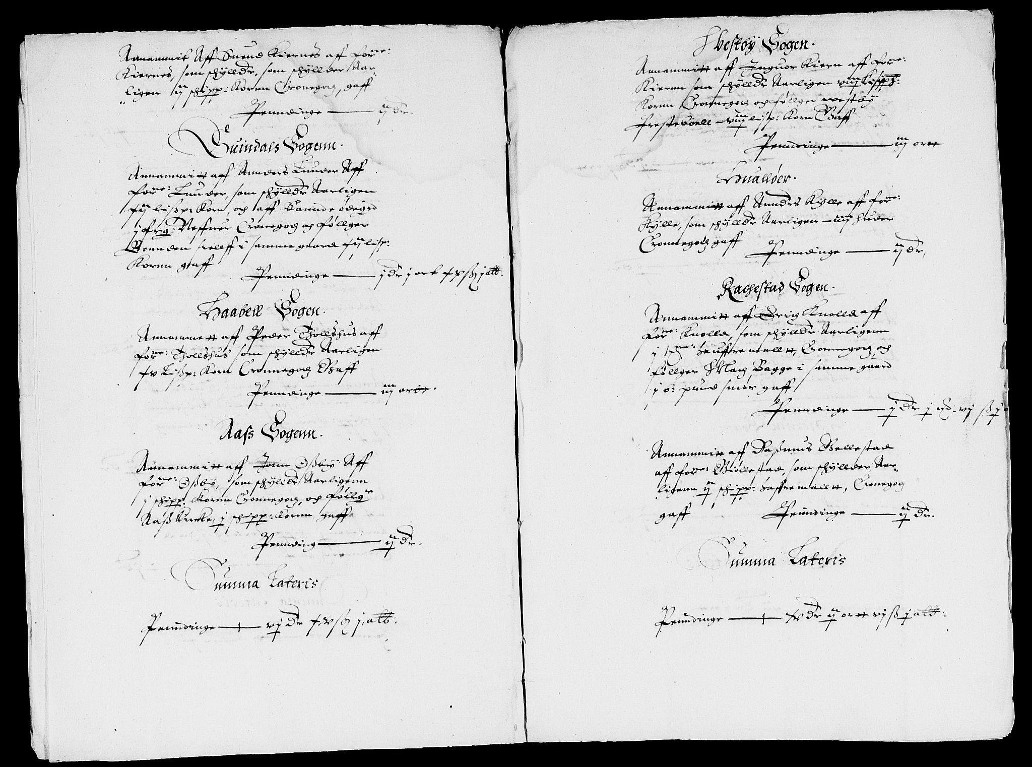 RA, Rentekammeret inntil 1814, Reviderte regnskaper, Lensregnskaper, R/Rb/Rbg/L0001: Verne kloster len, 1599-1619