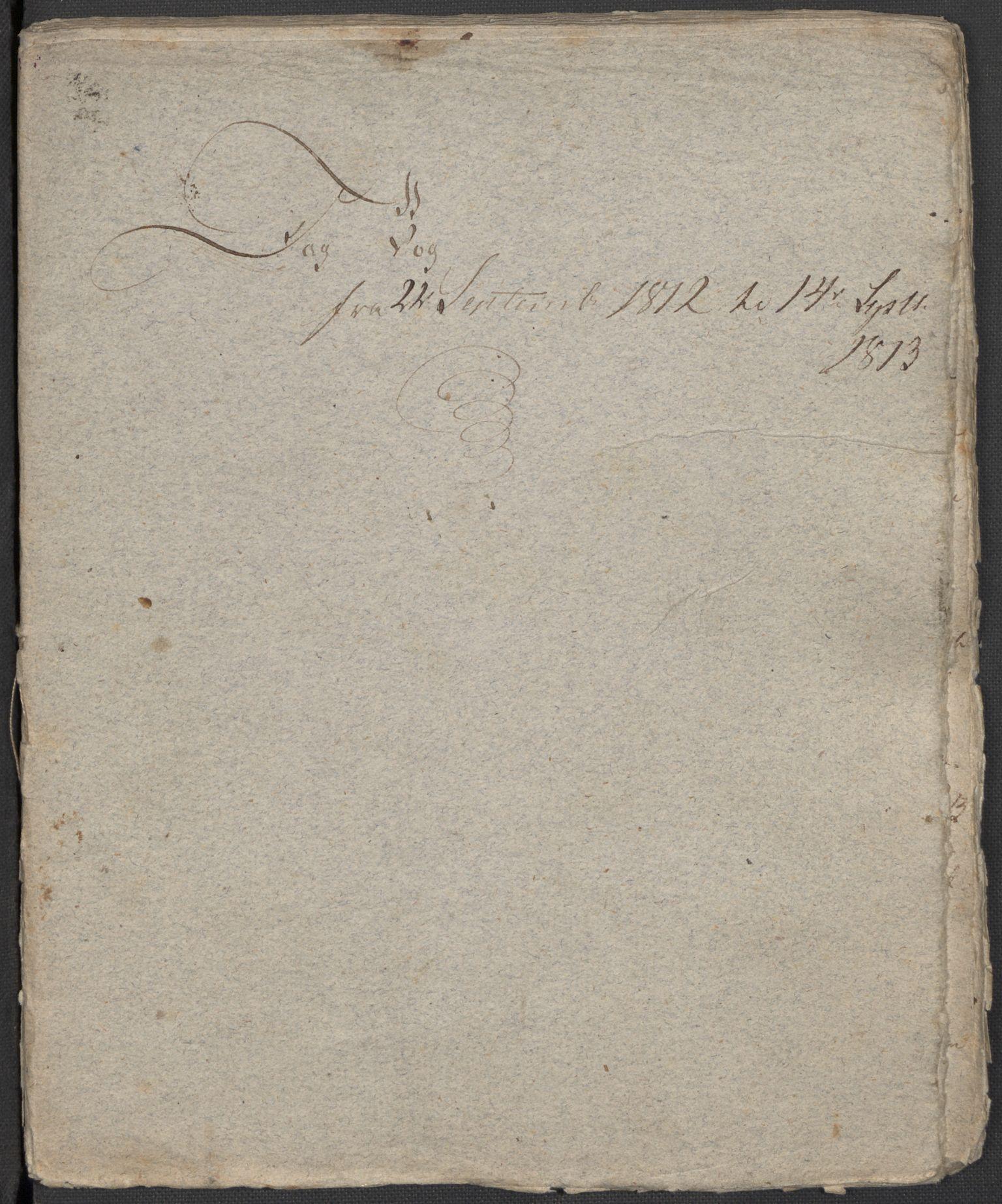 RA, Holck, Meidell, Hartvig, F/L0001: (Kassett) Dagbøker ført av Ole Elias v.Holck, 1798-1842, s. 320