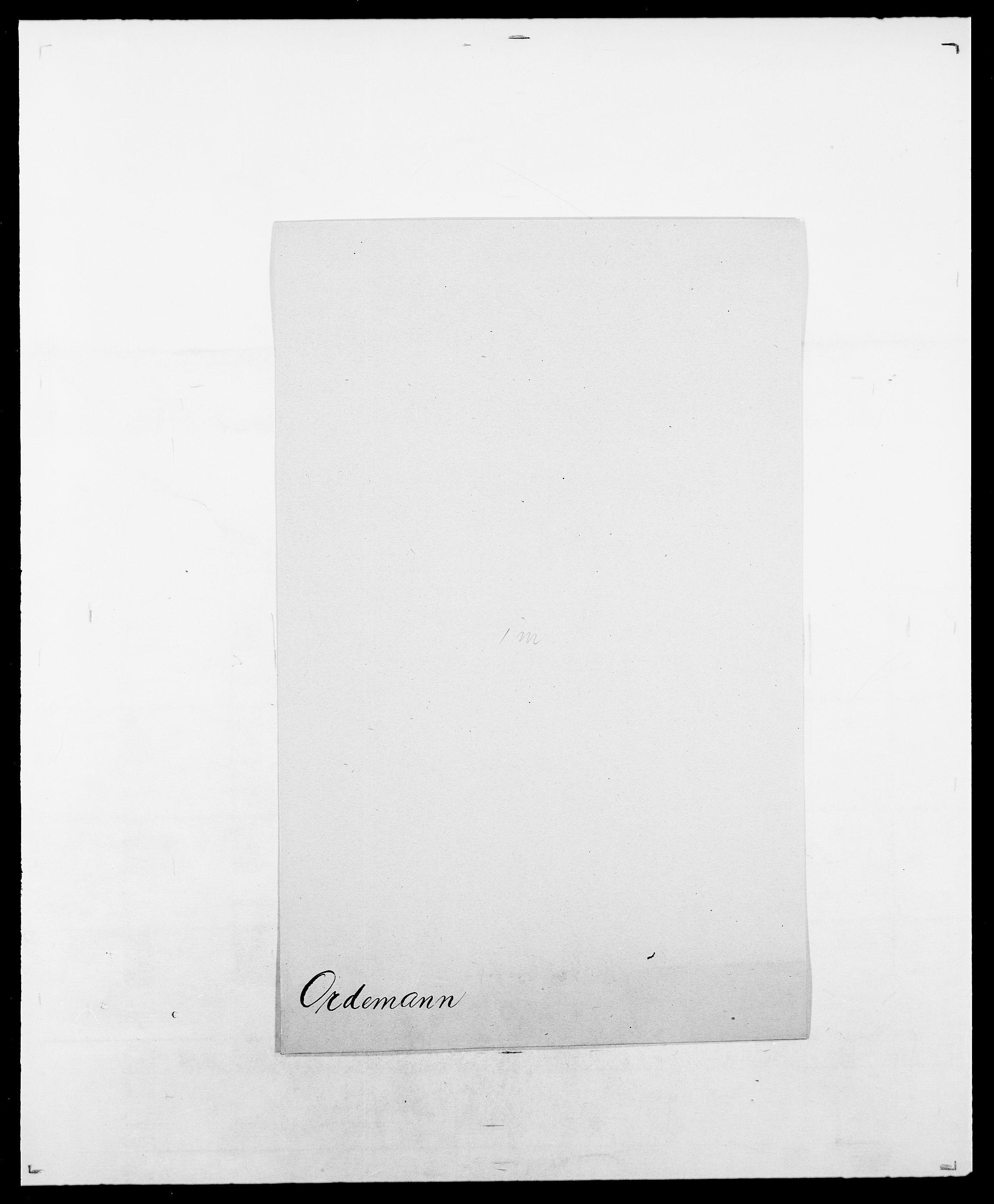SAO, Delgobe, Charles Antoine - samling, D/Da/L0029: Obel - Oxholm, s. 401