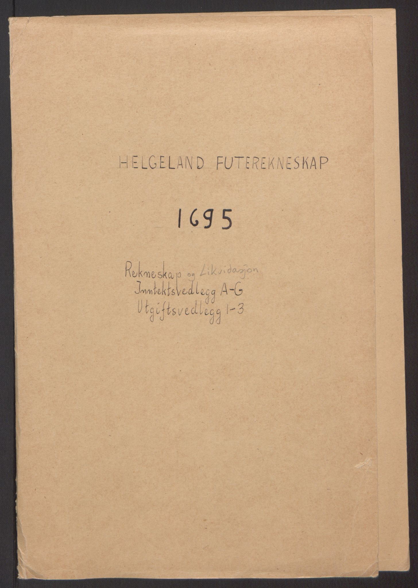 RA, Rentekammeret inntil 1814, Reviderte regnskaper, Fogderegnskap, R65/L4505: Fogderegnskap Helgeland, 1693-1696, s. 270