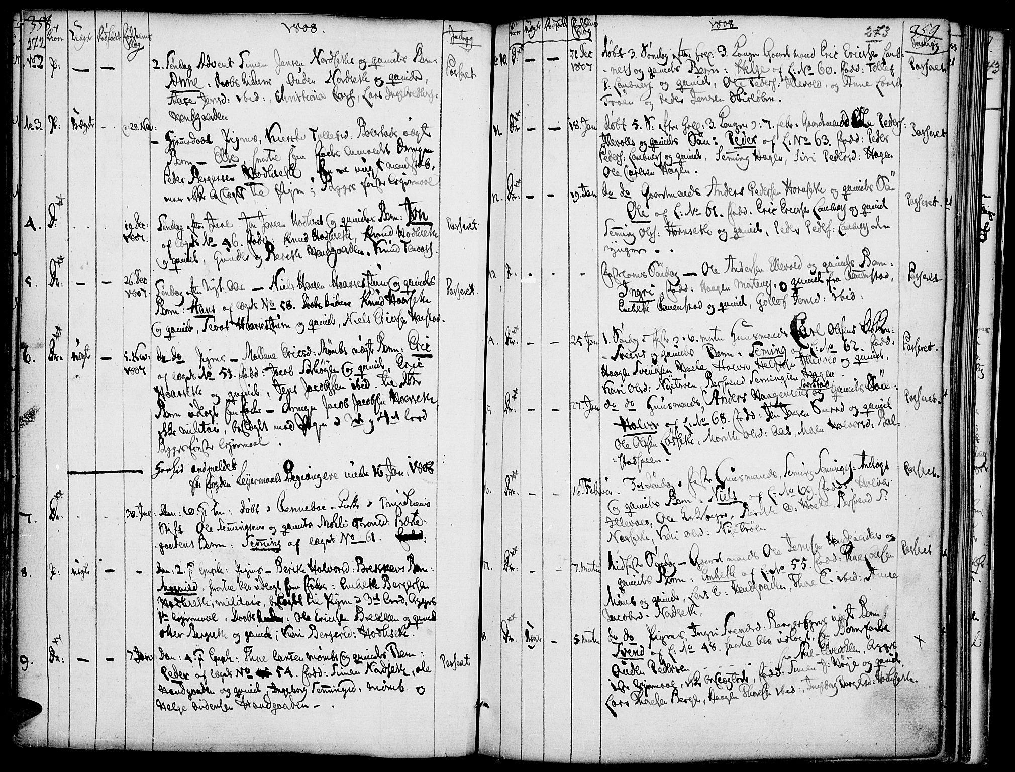 SAH, Rendalen prestekontor, H/Ha/Haa/L0002: Ministerialbok nr. 2, 1788-1814, s. 272-273