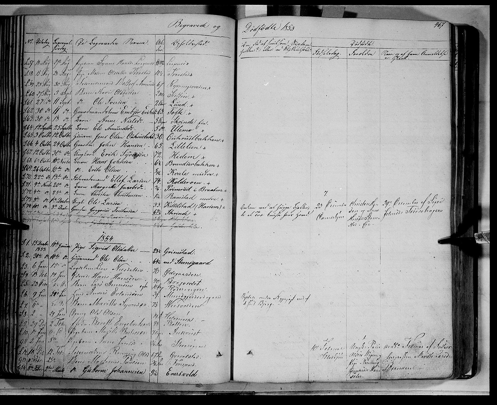 SAH, Lom prestekontor, K/L0006: Ministerialbok nr. 6B, 1837-1863, s. 467