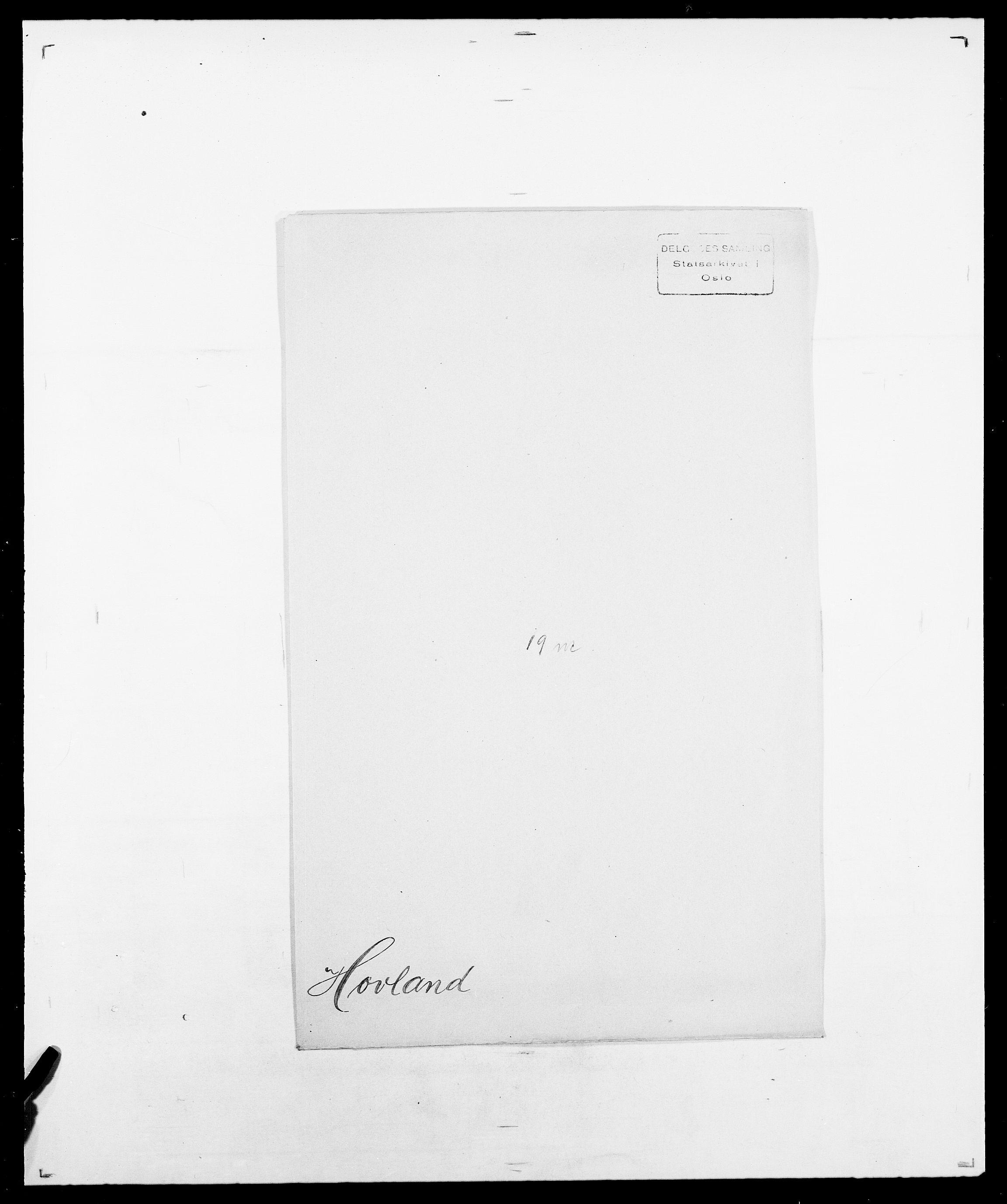 SAO, Delgobe, Charles Antoine - samling, D/Da/L0018: Hoch - Howert, s. 1050