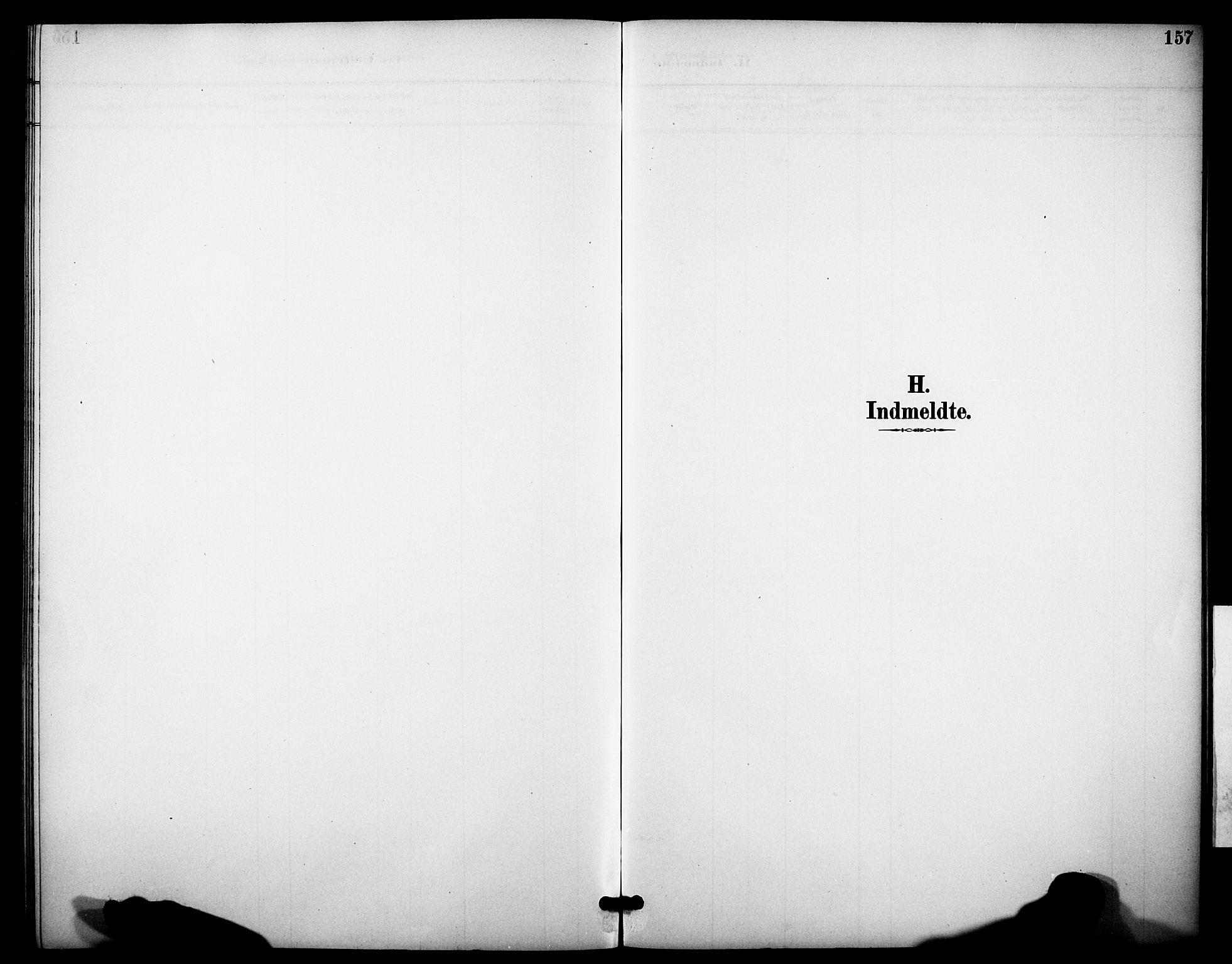 SAKO, Heddal kirkebøker, F/Fb/L0001: Ministerialbok nr. II 1, 1884-1910, s. 157