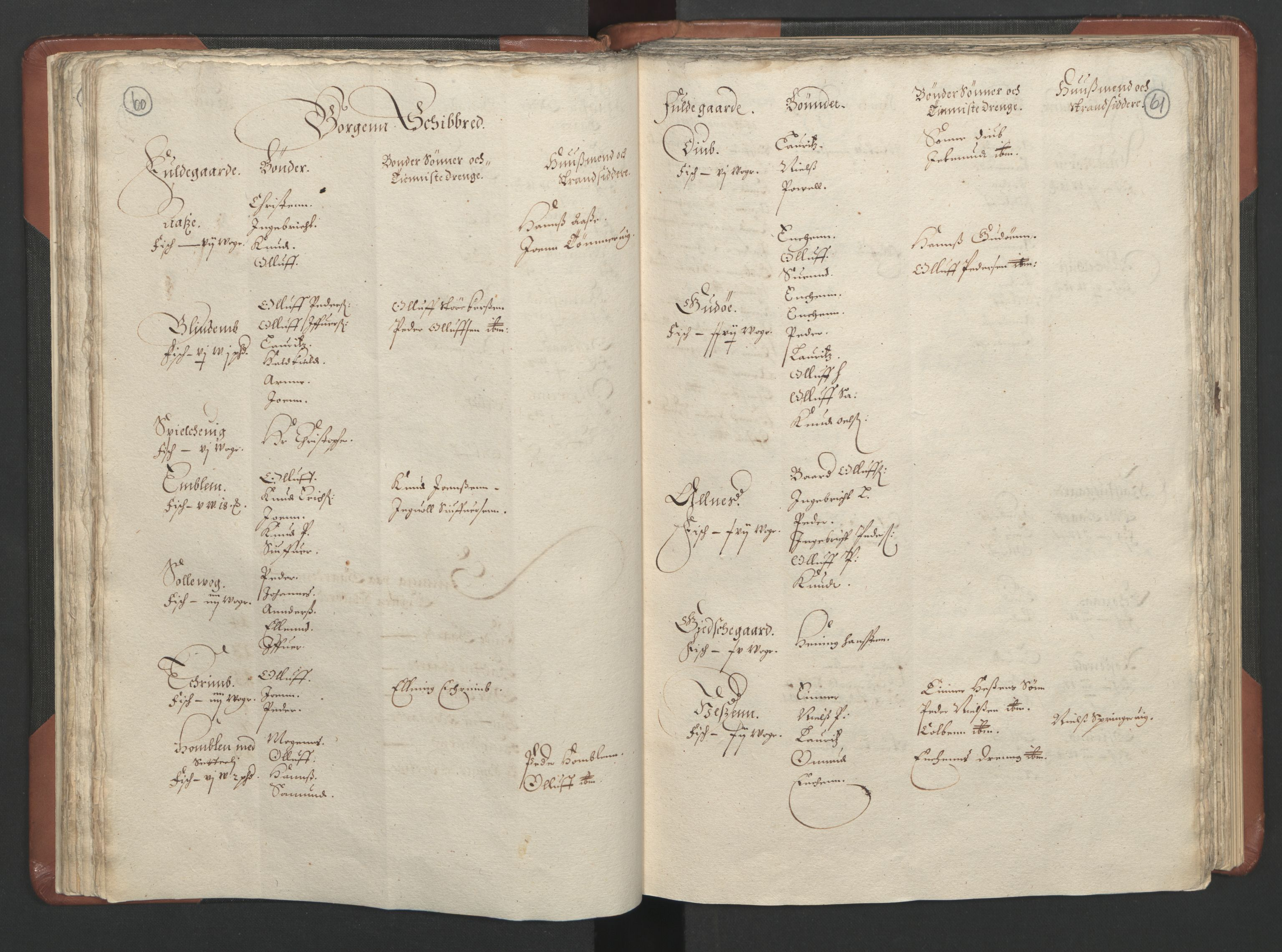 RA, Fogdenes og sorenskrivernes manntall 1664-1666, nr. 16: Romsdal fogderi og Sunnmøre fogderi, 1664-1665, s. 60-61