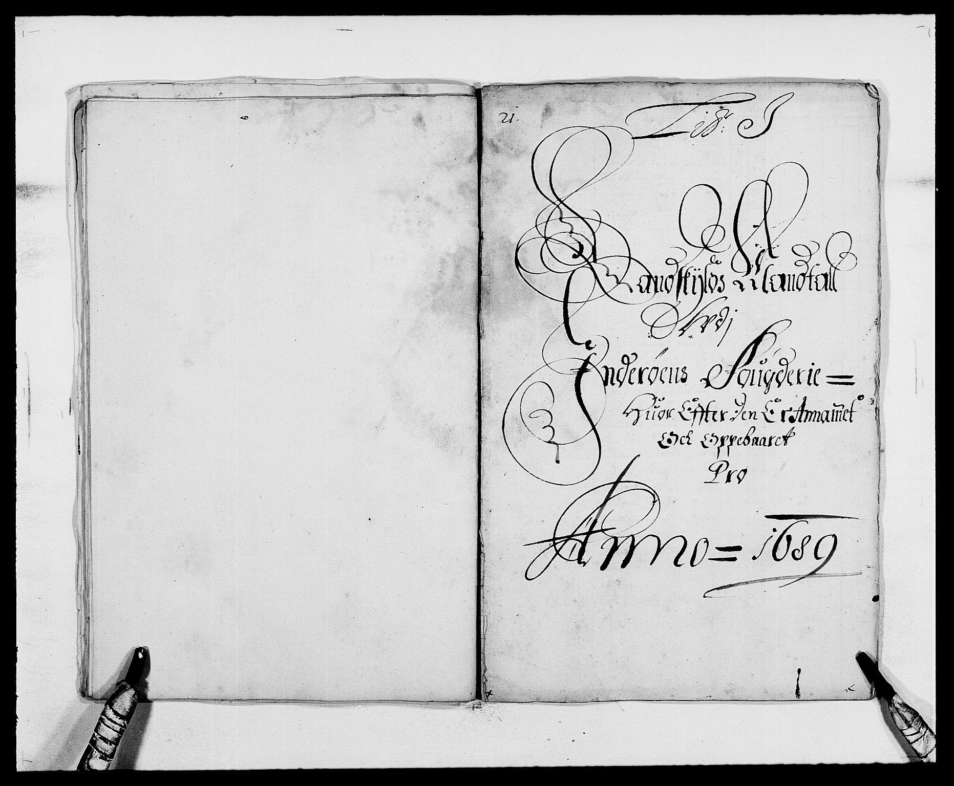RA, Rentekammeret inntil 1814, Reviderte regnskaper, Fogderegnskap, R63/L4306: Fogderegnskap Inderøy, 1687-1689, s. 448