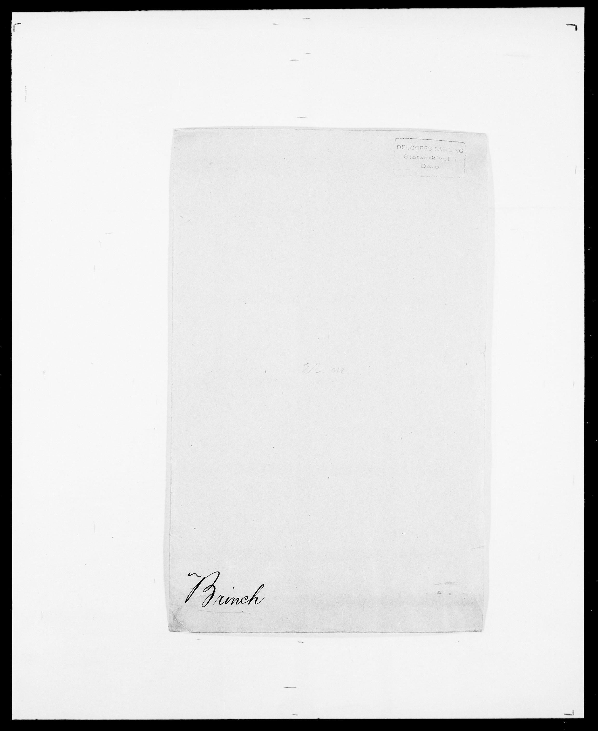 SAO, Delgobe, Charles Antoine - samling, D/Da/L0006: Brambani - Brønø, s. 350