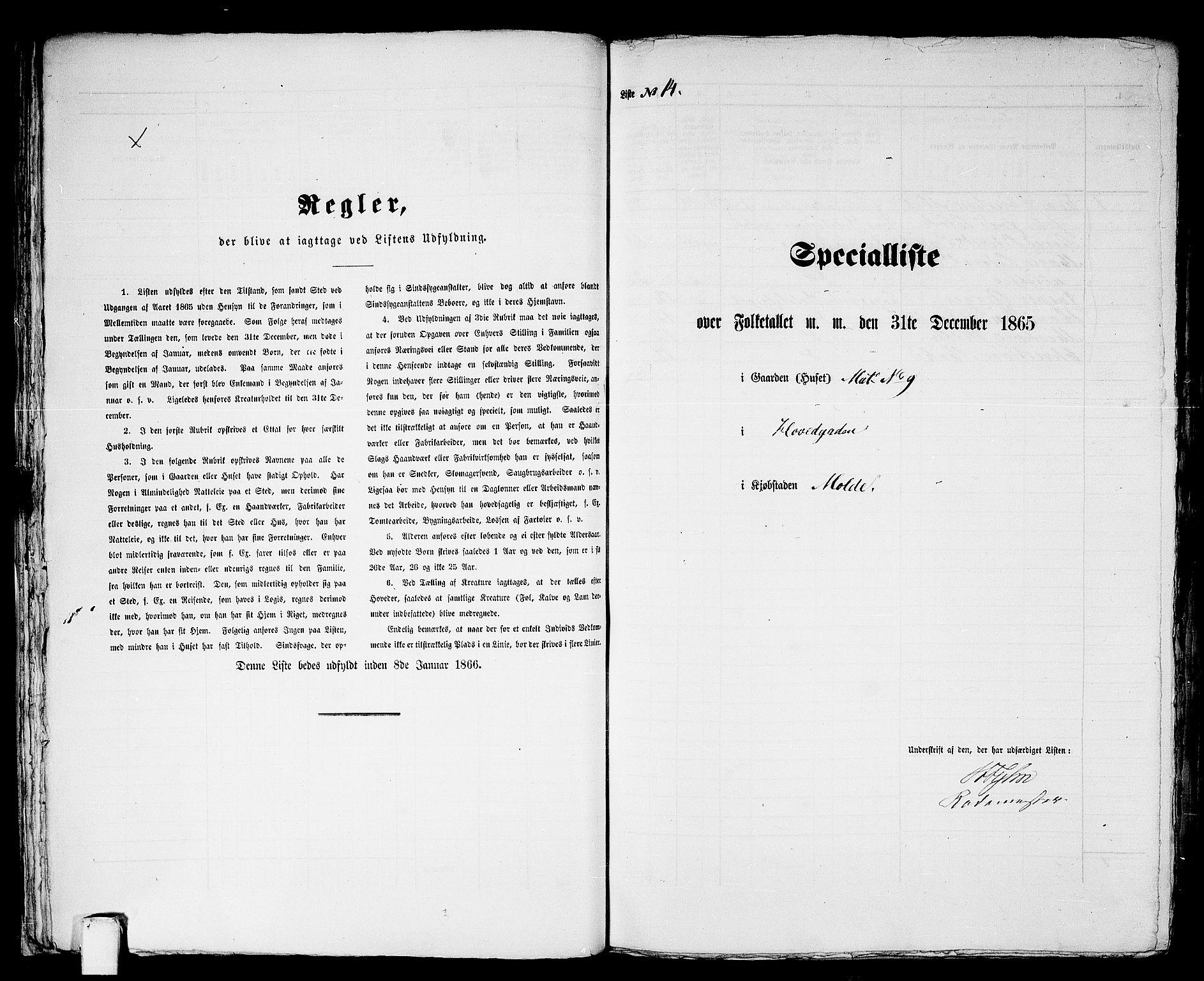 RA, Folketelling 1865 for 1502P Molde prestegjeld, 1865, s. 38